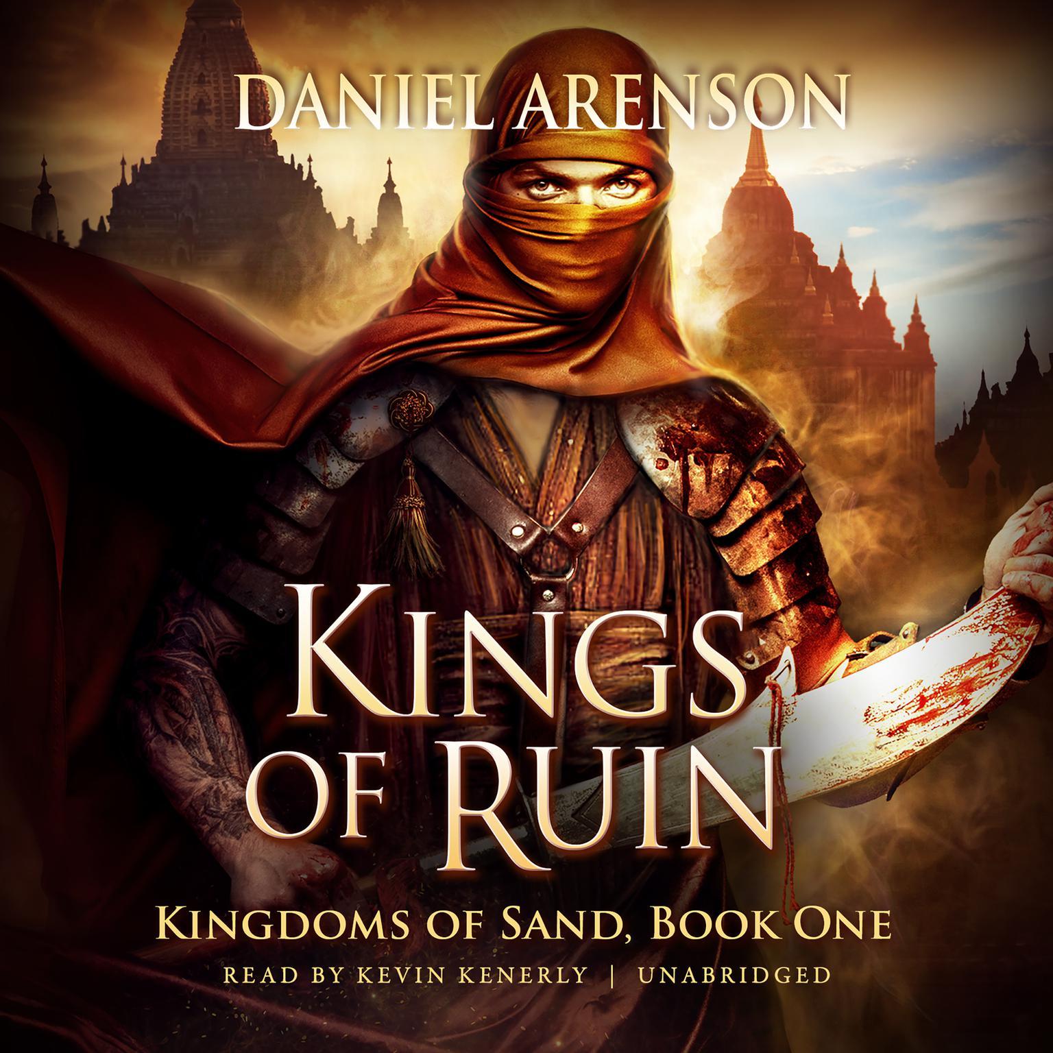 Printable Kings of Ruin: Kingdoms of Sand, Book 1 Audiobook Cover Art