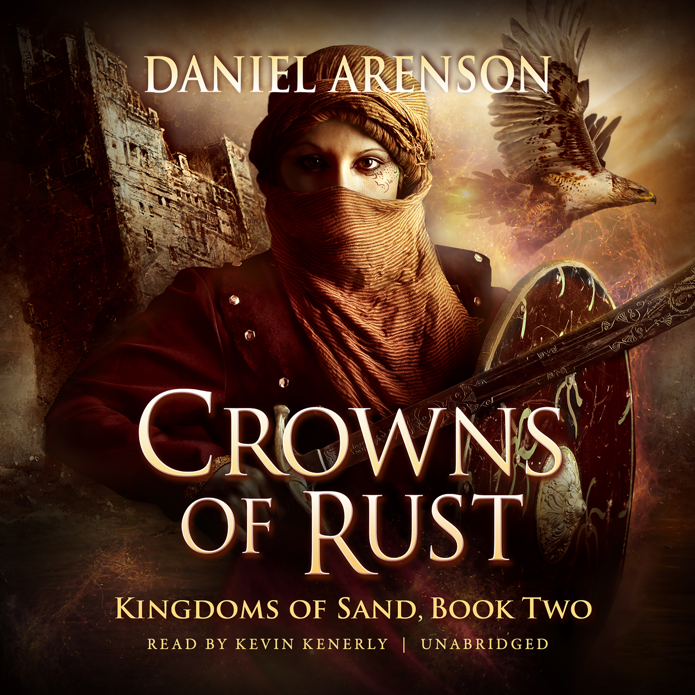 Printable Crowns of Rust: Kingdoms of Sand, Book 2 Audiobook Cover Art