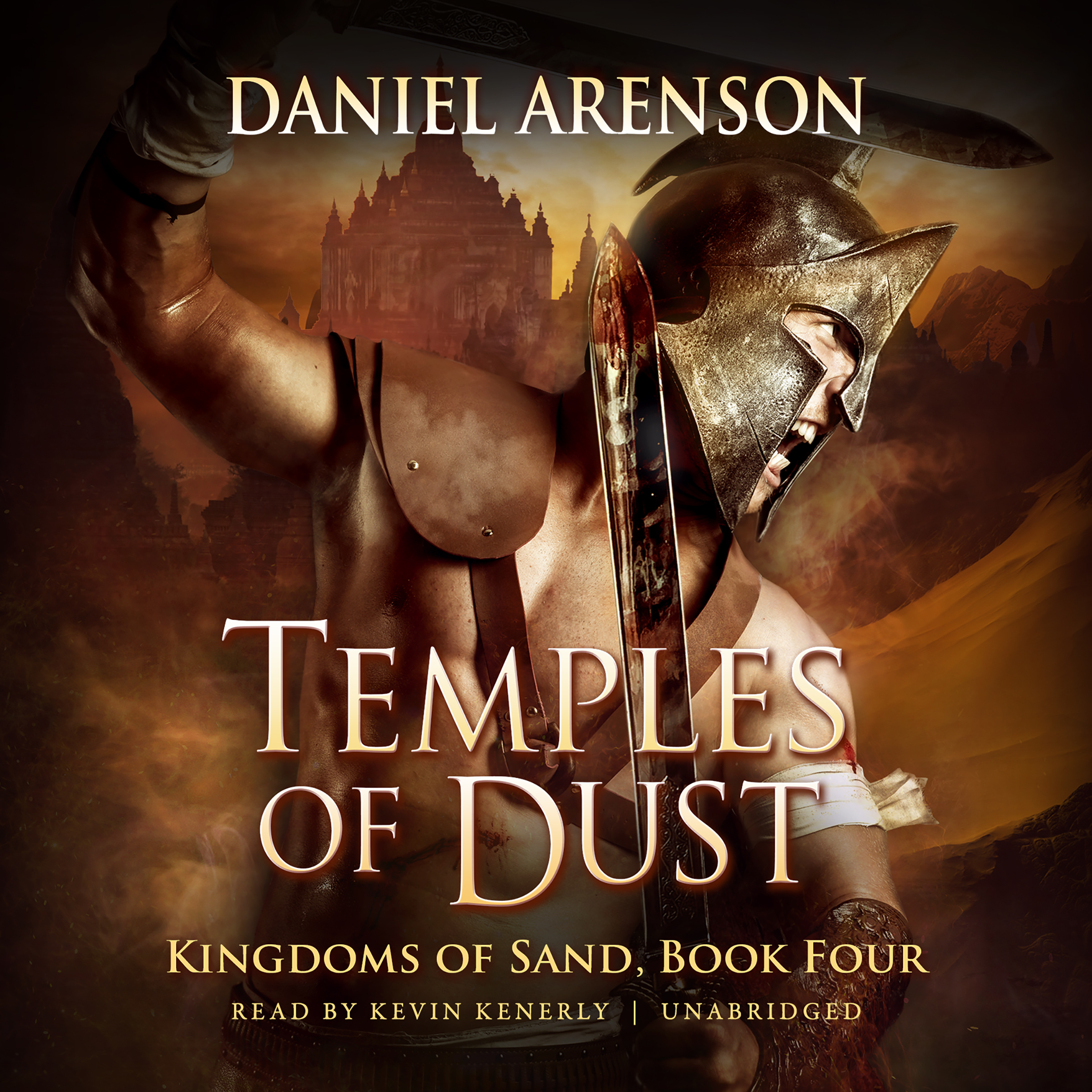 Printable Temples of Dust: Kingdoms of Sand, Book 4 Audiobook Cover Art