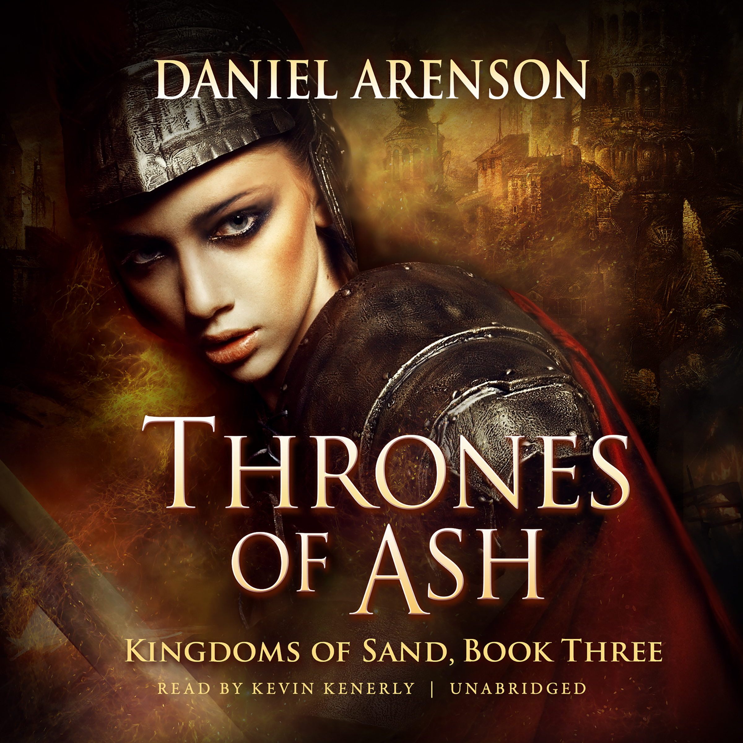 Printable Thrones of Ash: Kingdoms of Sand, Book 3 Audiobook Cover Art