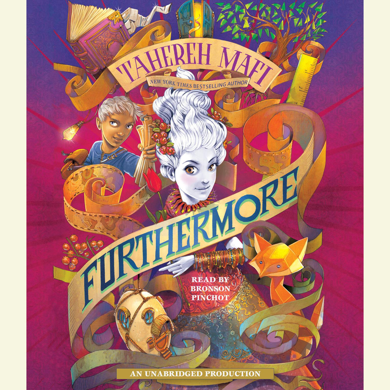 Printable Furthermore Audiobook Cover Art