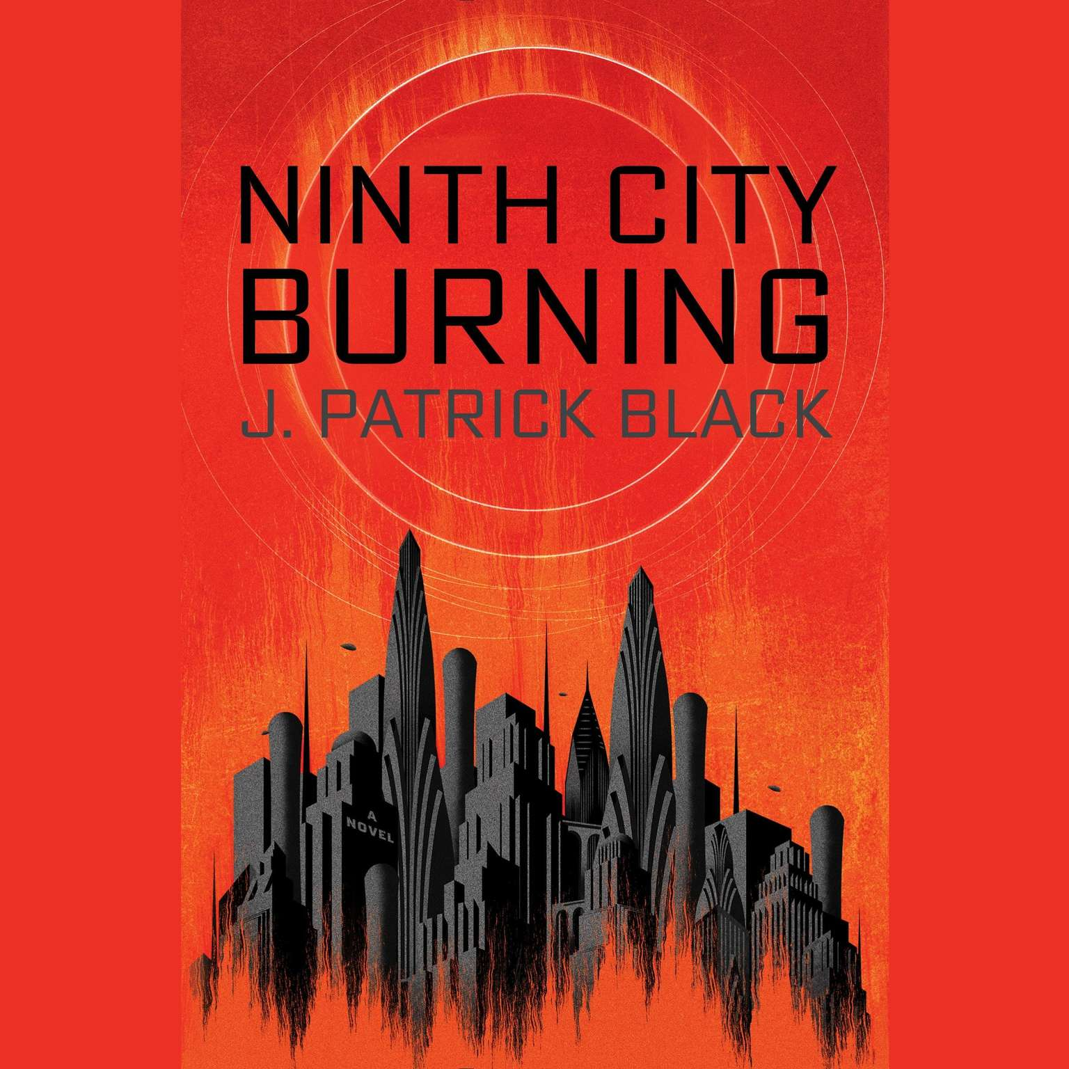 Printable Ninth City Burning Audiobook Cover Art