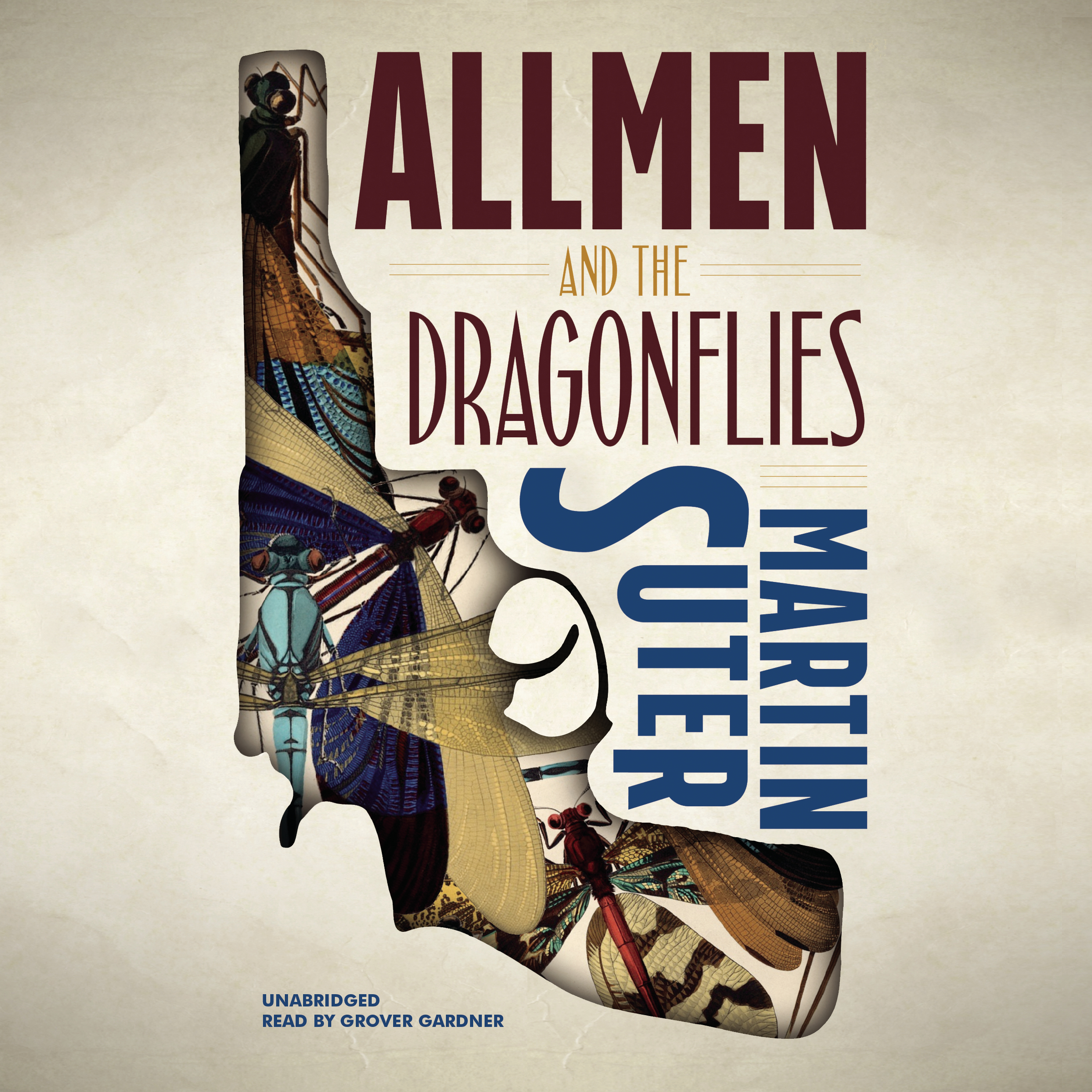 Printable Allmen and the Dragonflies Audiobook Cover Art