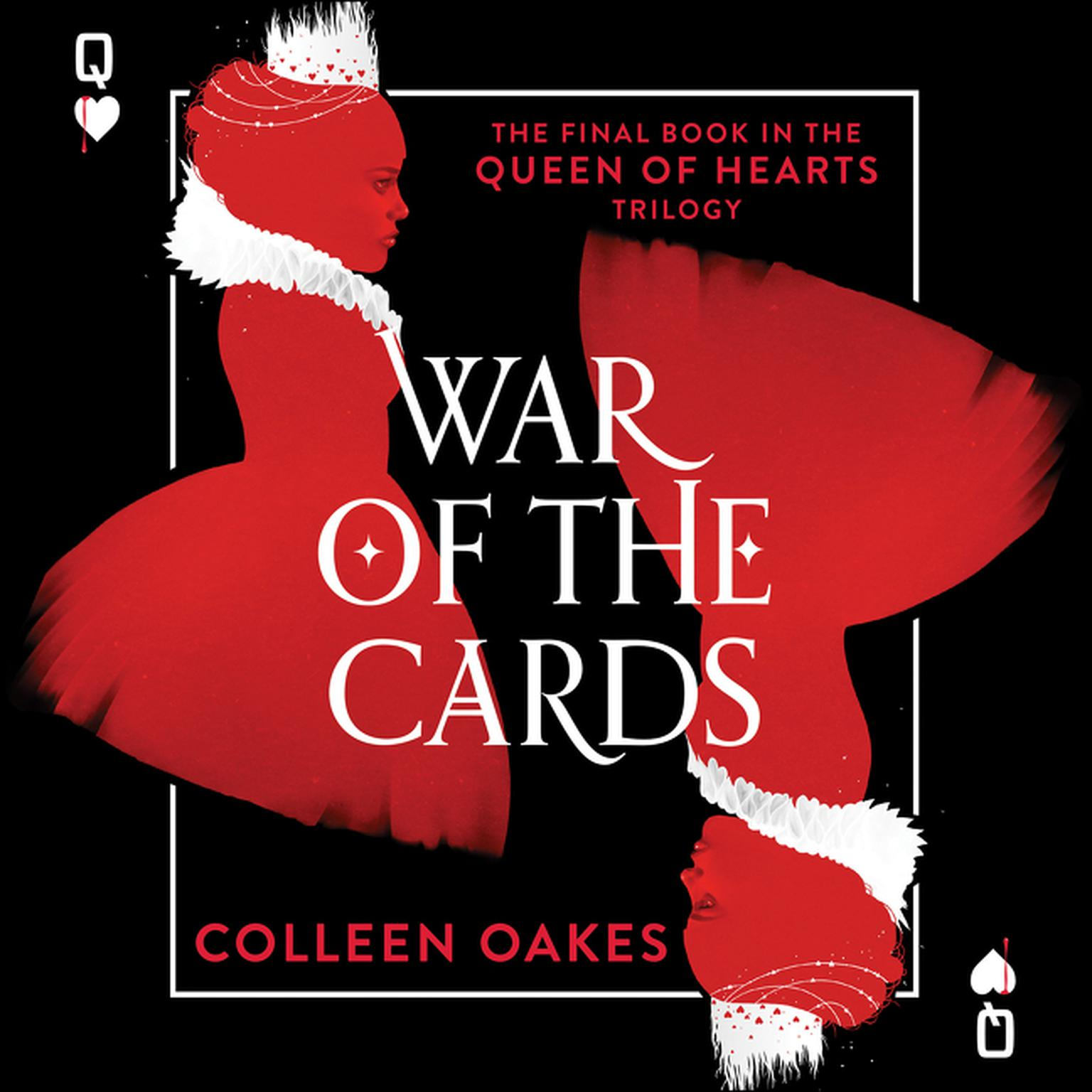 Printable War of the Cards Audiobook Cover Art