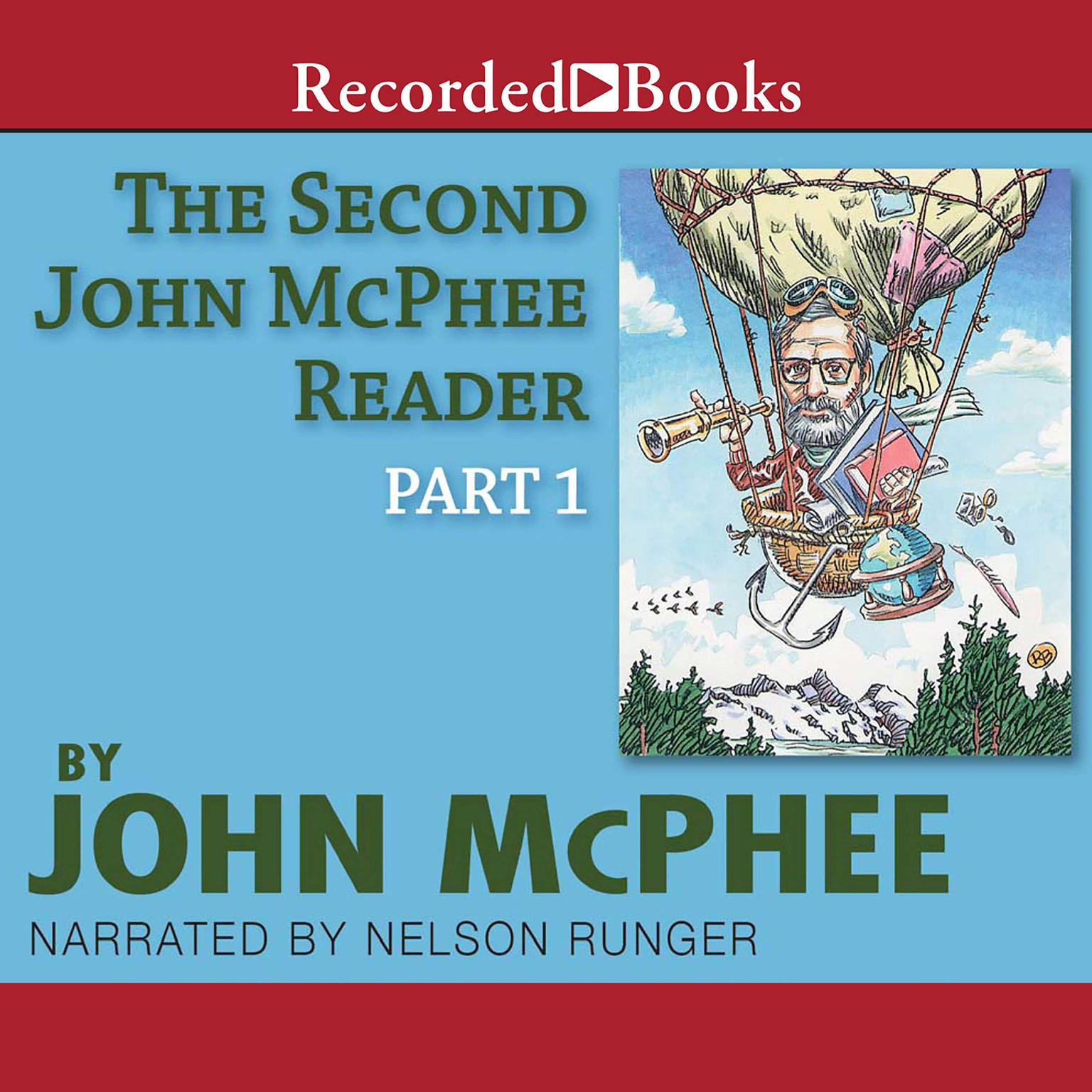 Printable The Second John McPhee Reader, Part One Audiobook Cover Art