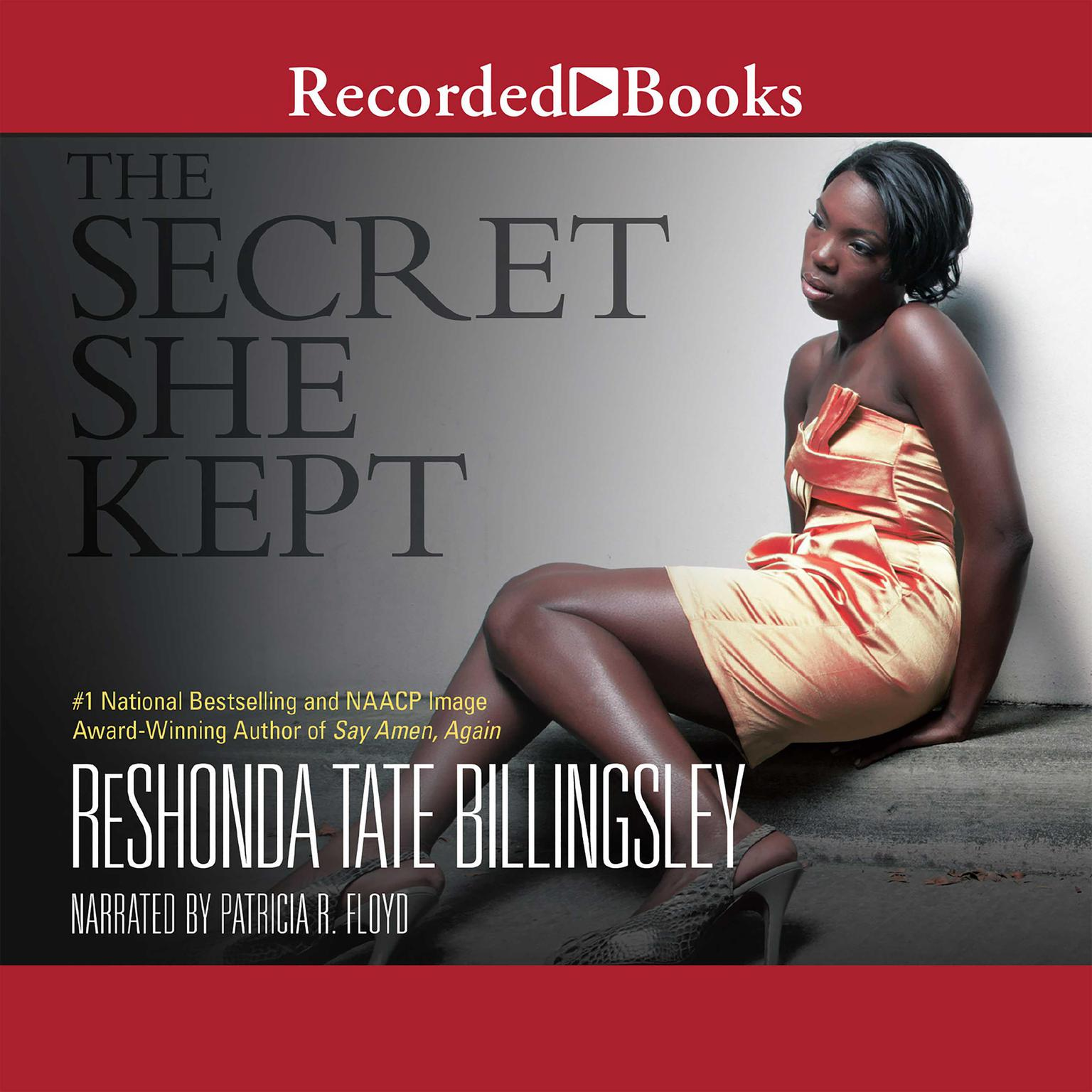 Printable The Secret She Kept Audiobook Cover Art