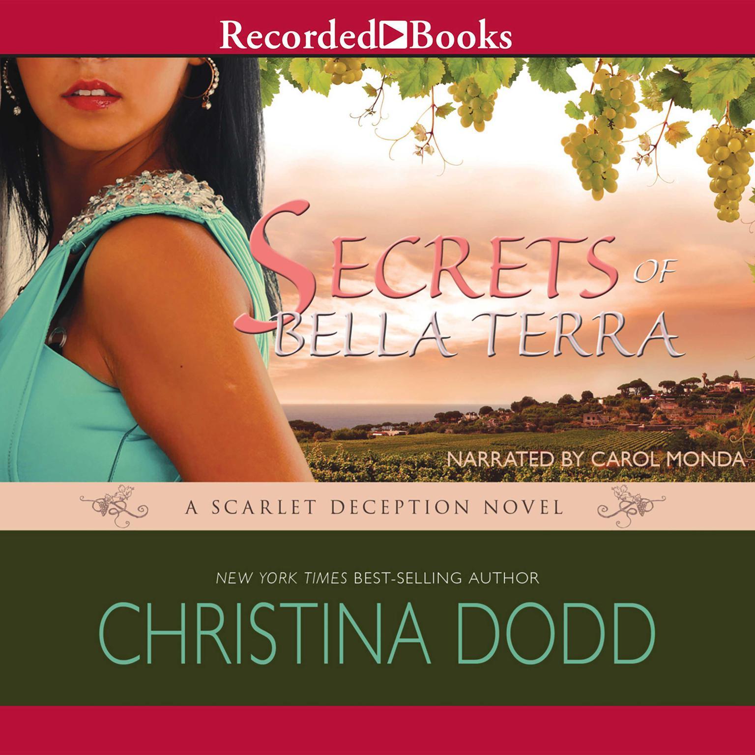 Printable Secrets of Bella Terra Audiobook Cover Art