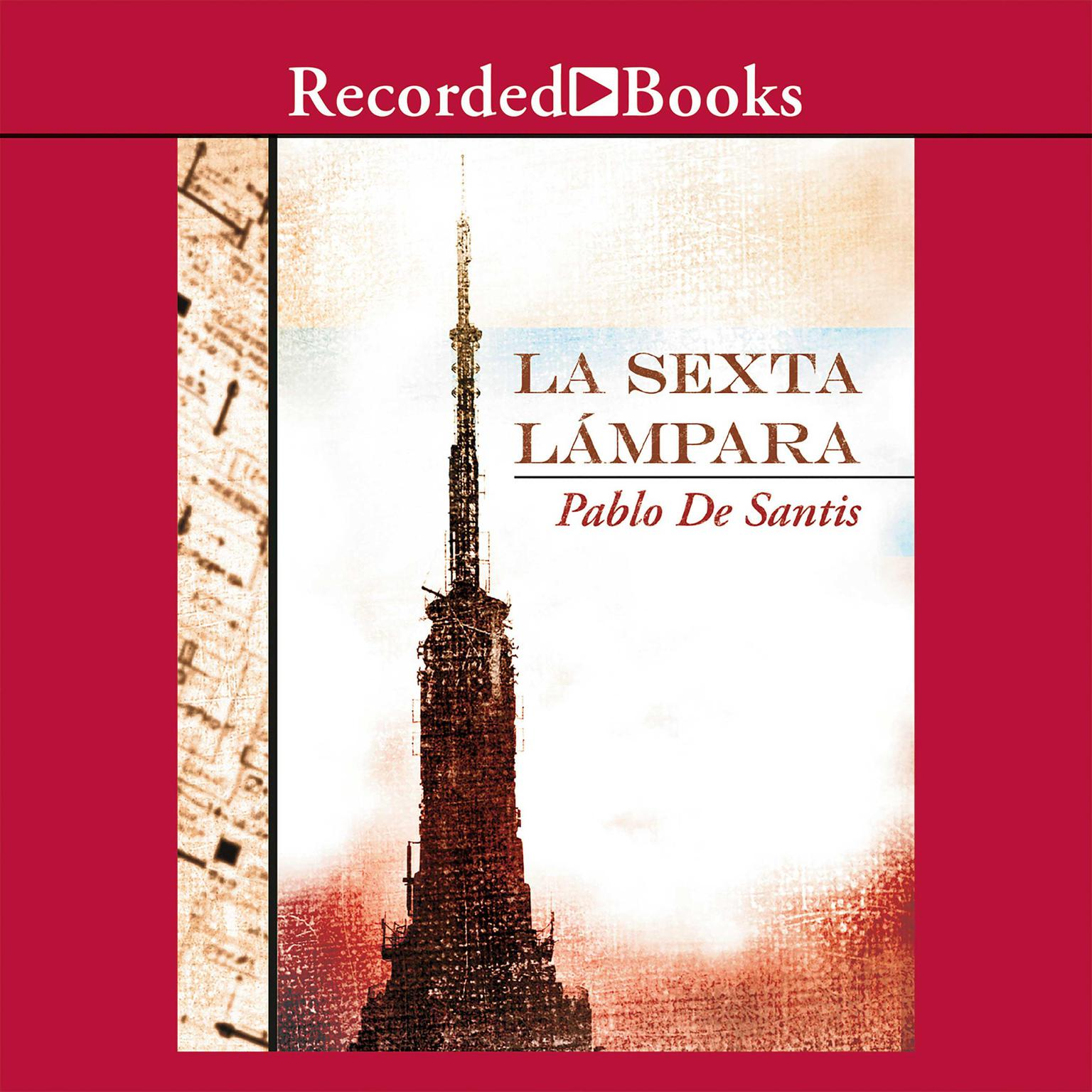 Printable La sexta lámpara Audiobook Cover Art