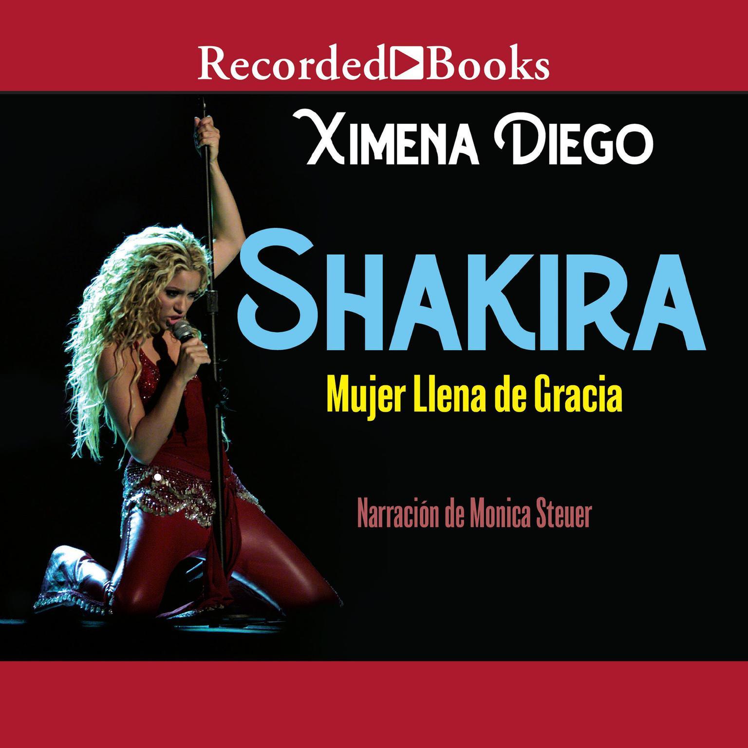 Printable Shakira: Woman Full of Grace Audiobook Cover Art