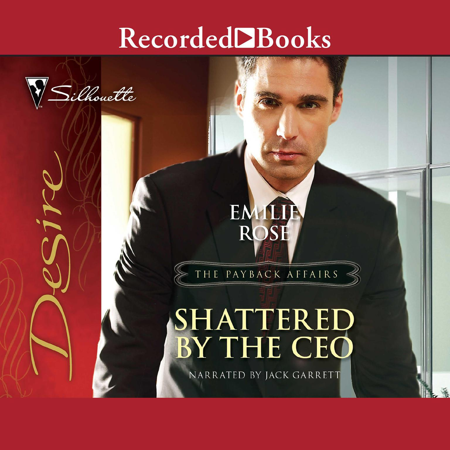 Printable Shattered by the CEO Audiobook Cover Art