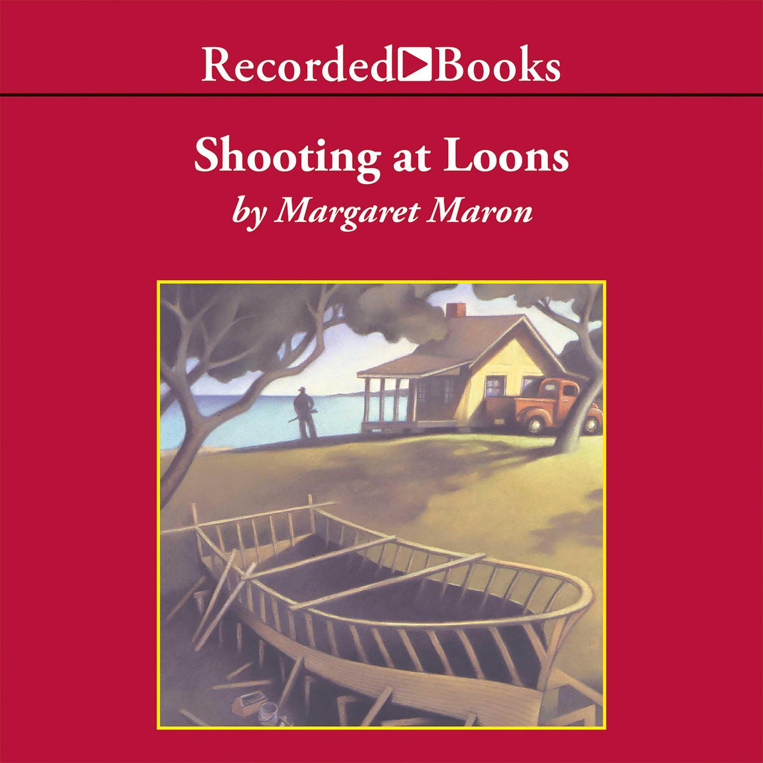 Printable Shooting at Loons Audiobook Cover Art