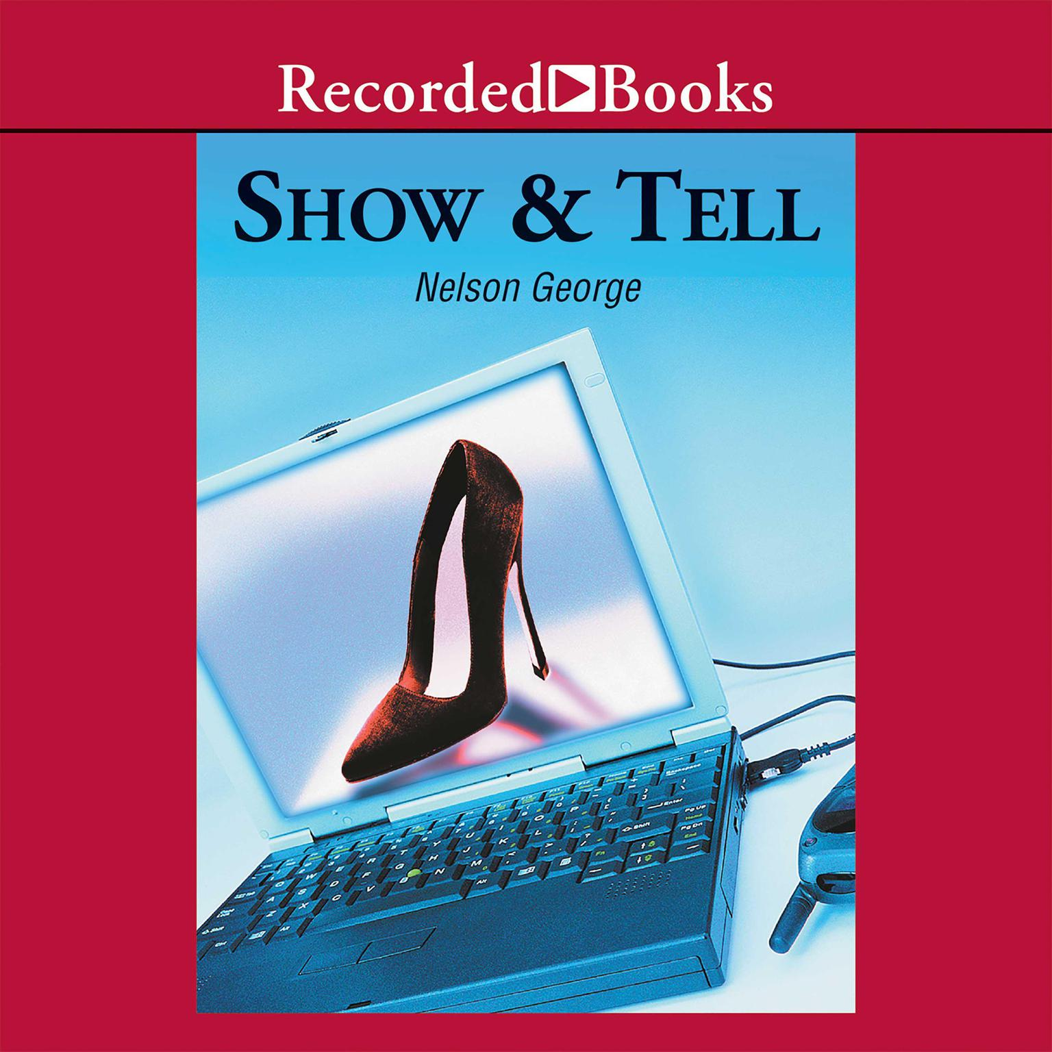 Printable Show and Tell Audiobook Cover Art