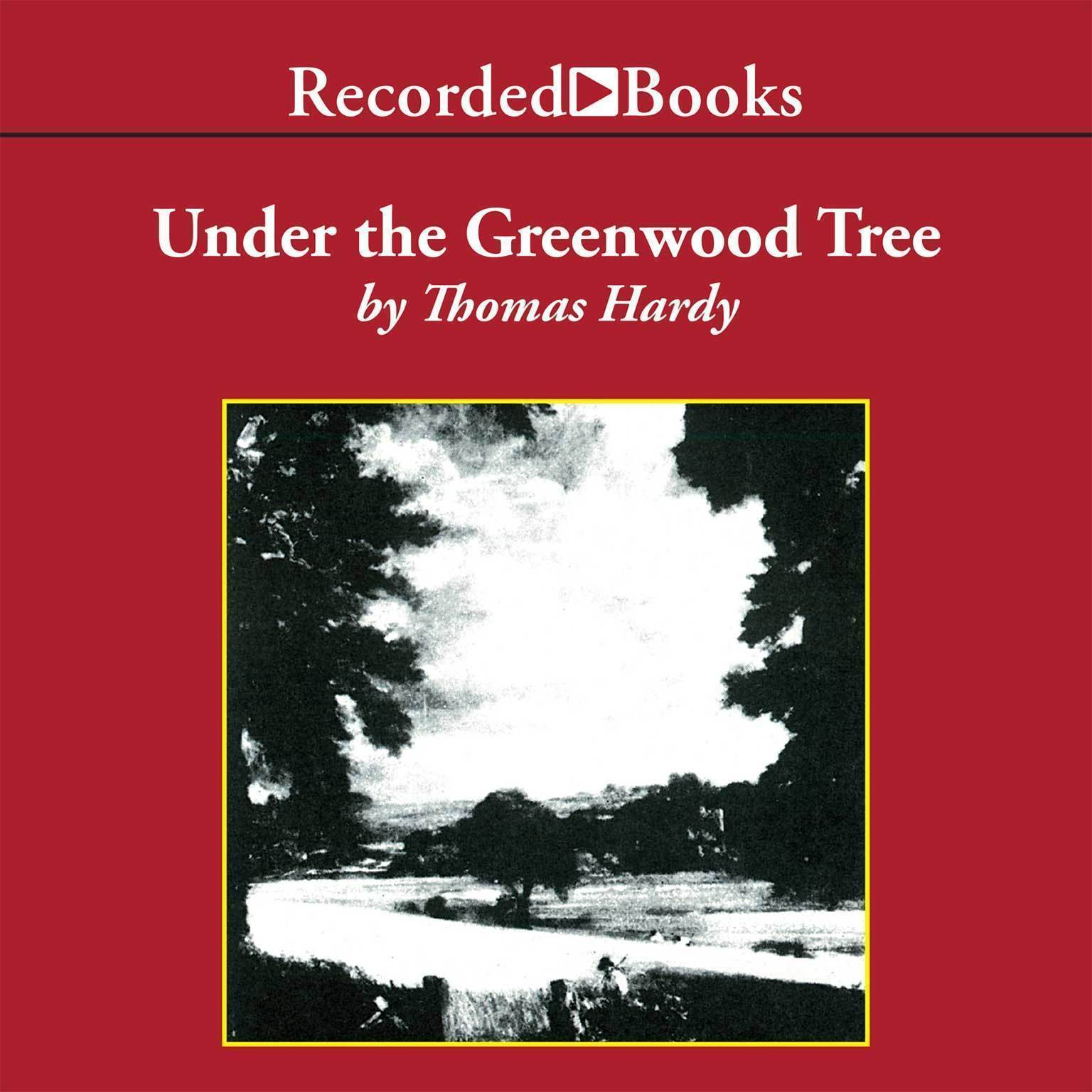 Printable Under the Greenwood Tree Audiobook Cover Art