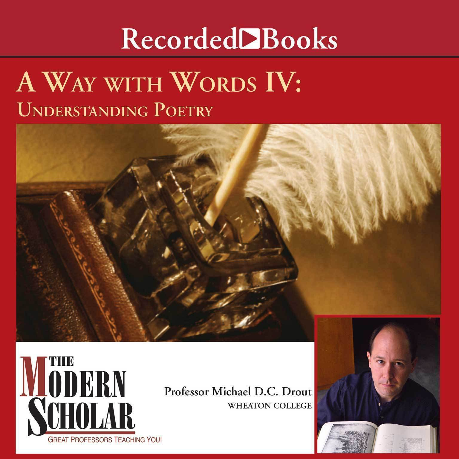Printable A Way With Words IV: Understanding Poetry Audiobook Cover Art