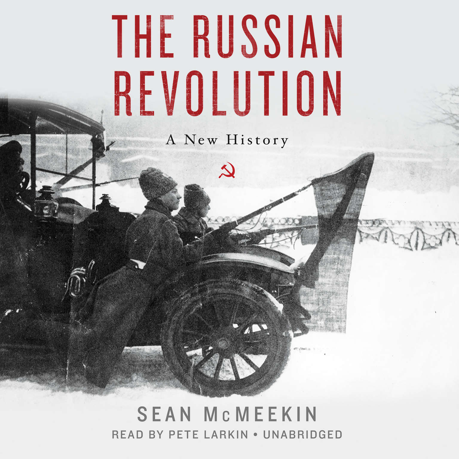 Printable The Russian Revolution: A New History Audiobook Cover Art