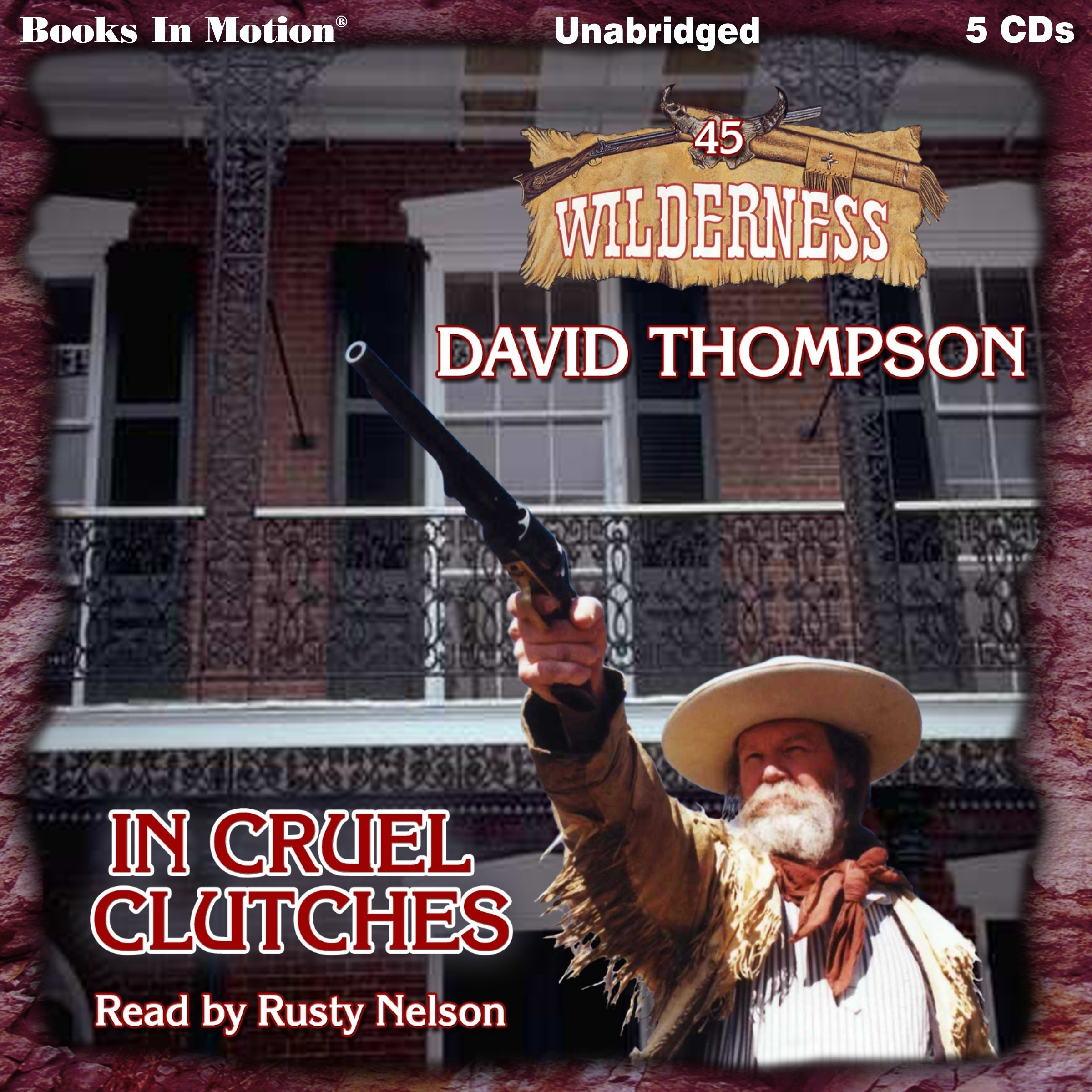 Printable In Cruel Clutches: Wilderness Series, Book 45 Audiobook Cover Art