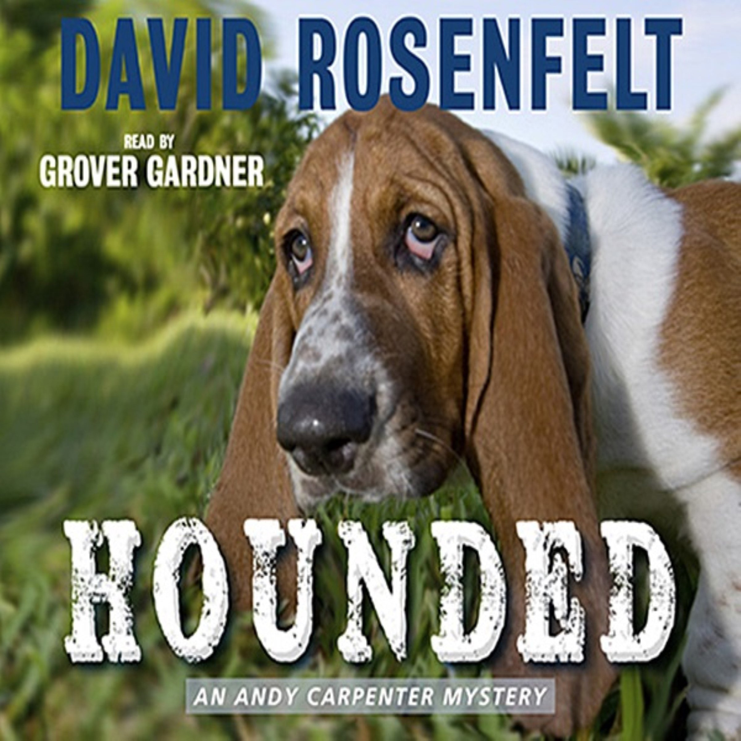 Printable Hounded Audiobook Cover Art