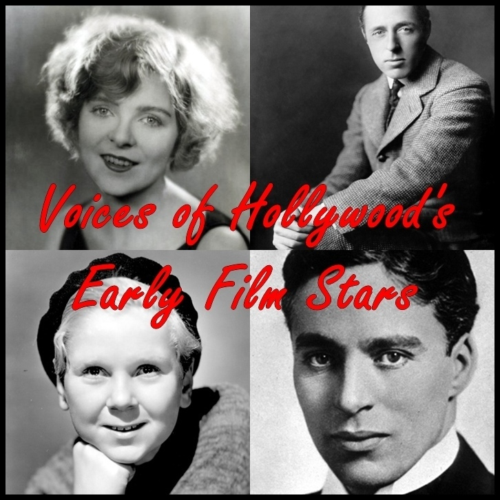 Printable Voices of Hollywood's Early Film Stars Audiobook Cover Art
