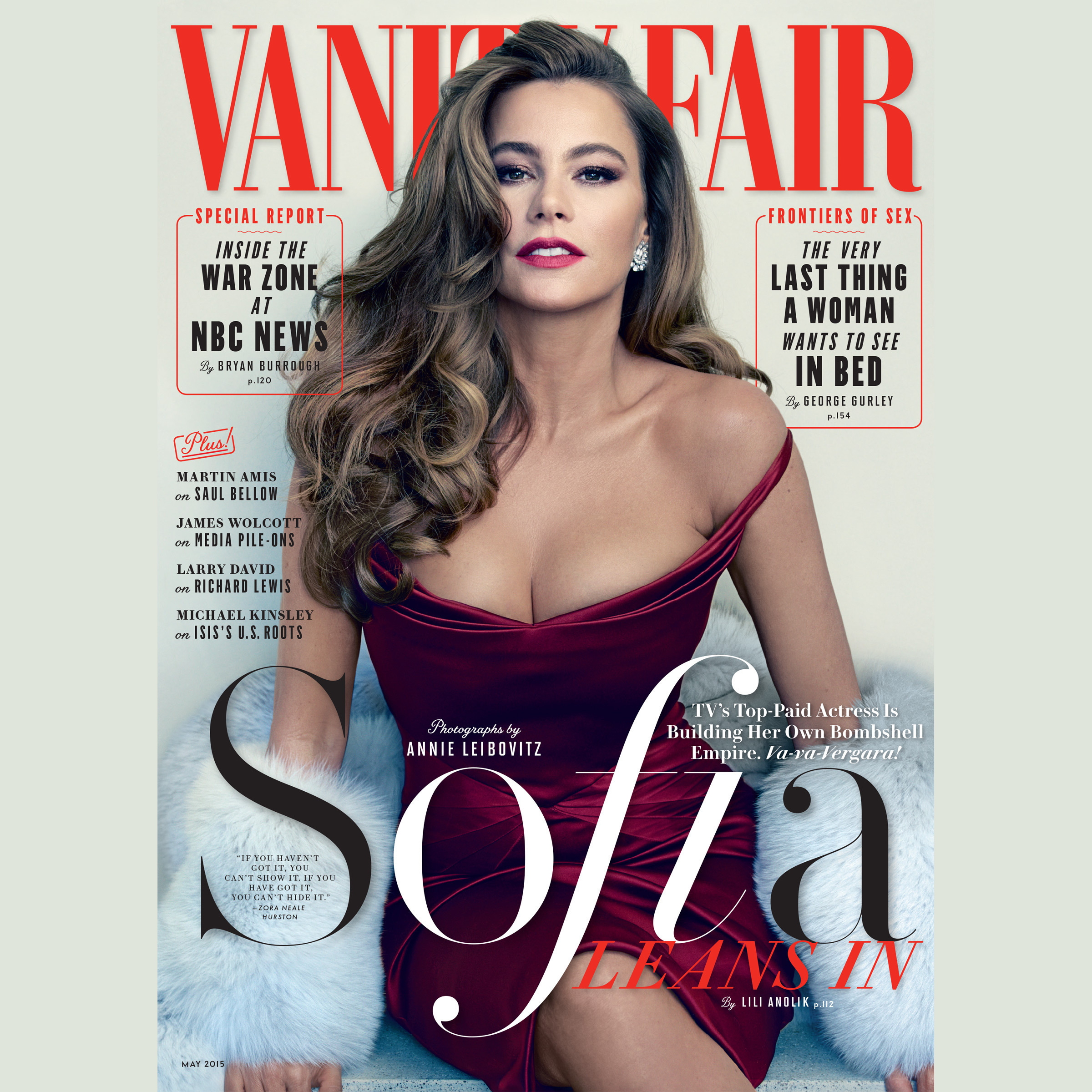 Printable Vanity Fair: May 2015 Issue Audiobook Cover Art