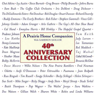 Prairie Home Companion 40th Anniversary Collection Audiobook, by Garrison Keillor