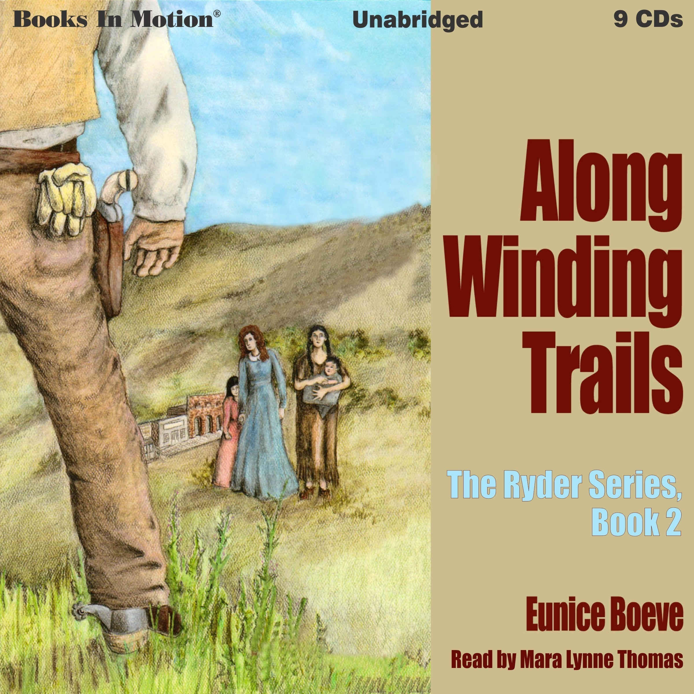Printable Along Winding Trails: The Ryder Series, 2 Audiobook Cover Art