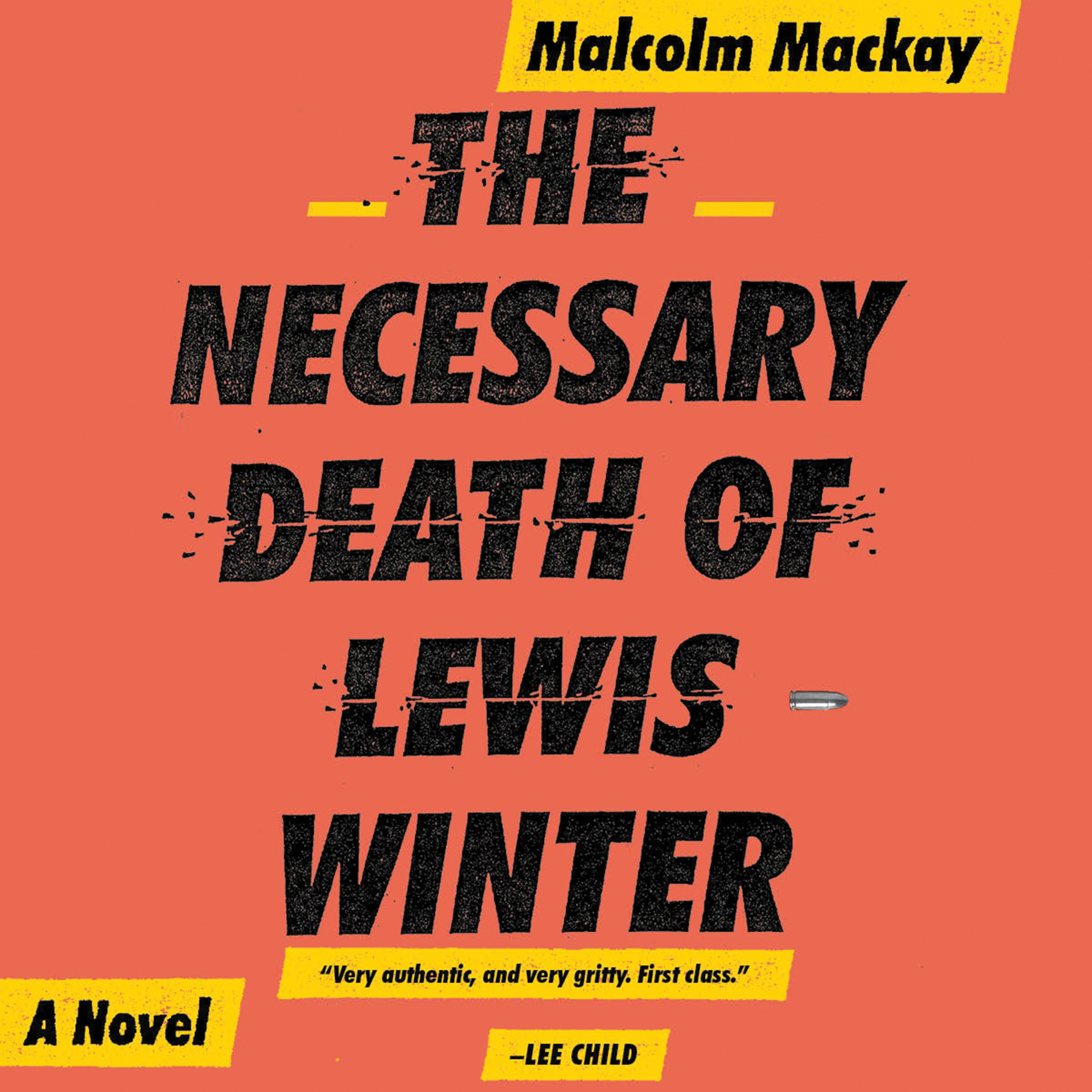 Printable The Necessary Death of Lewis Winter Audiobook Cover Art