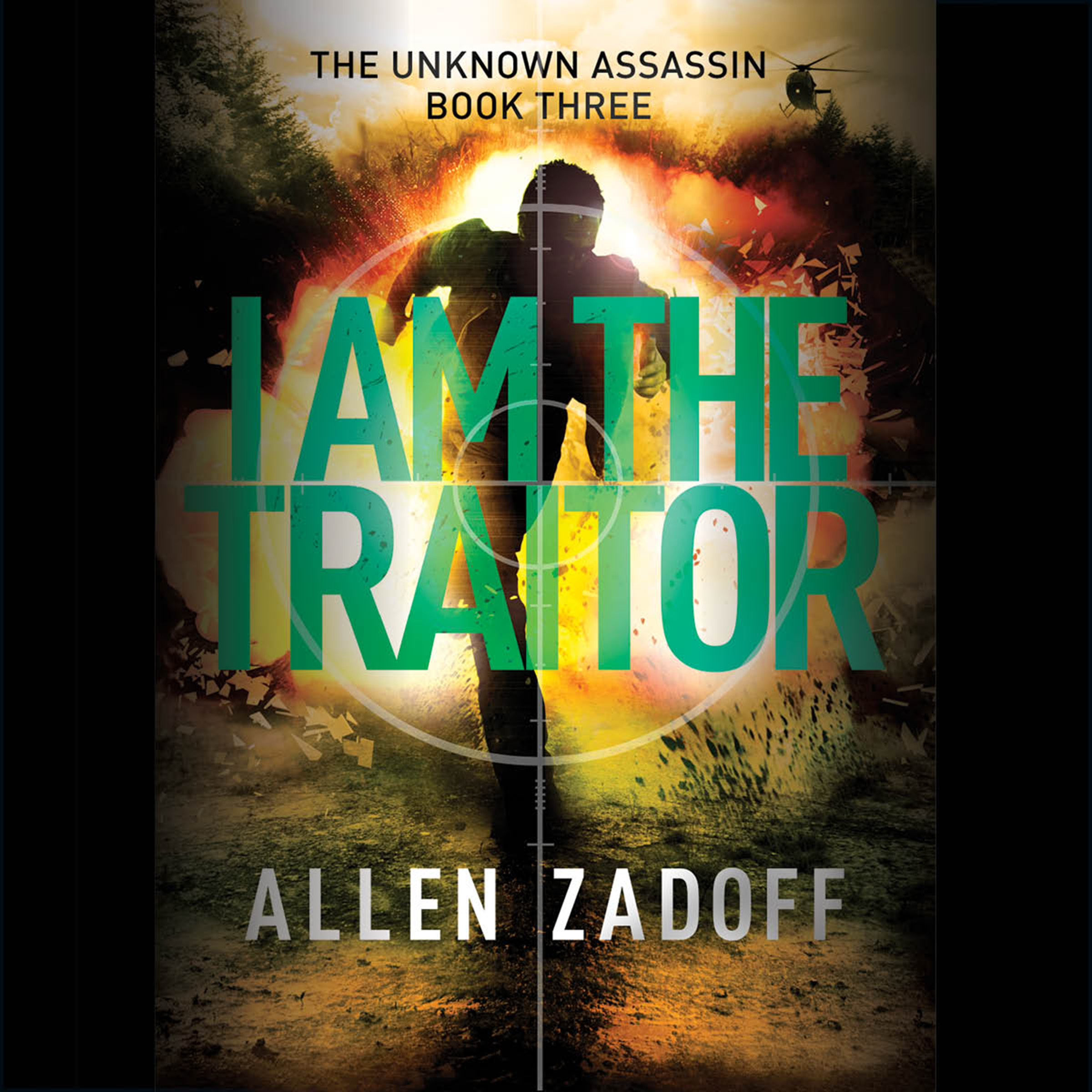 Printable I Am the Traitor Audiobook Cover Art