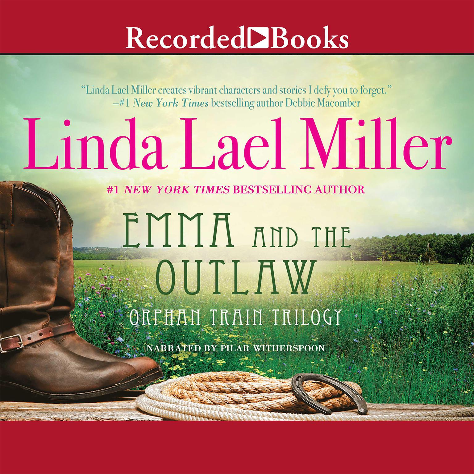 Printable Emma and the Outlaw Audiobook Cover Art