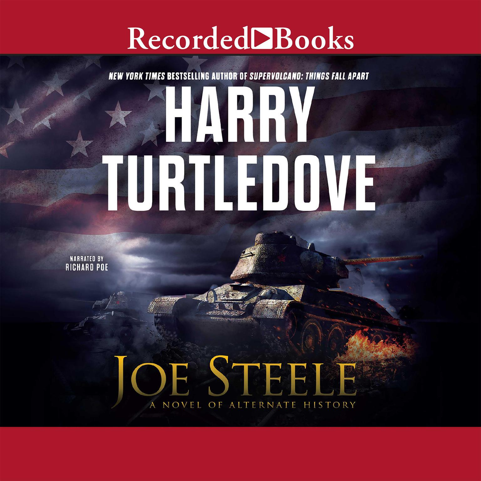 Printable Joe Steele Audiobook Cover Art
