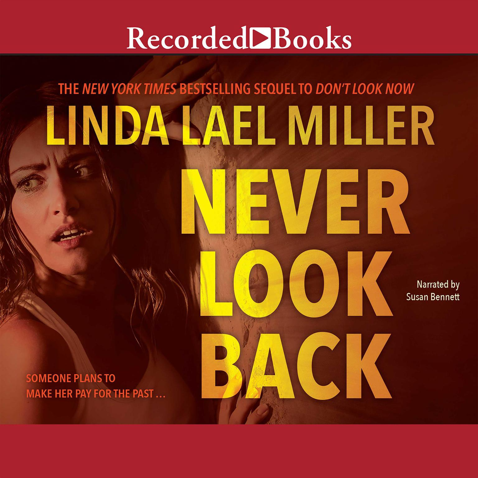 Printable Never Look Back Audiobook Cover Art