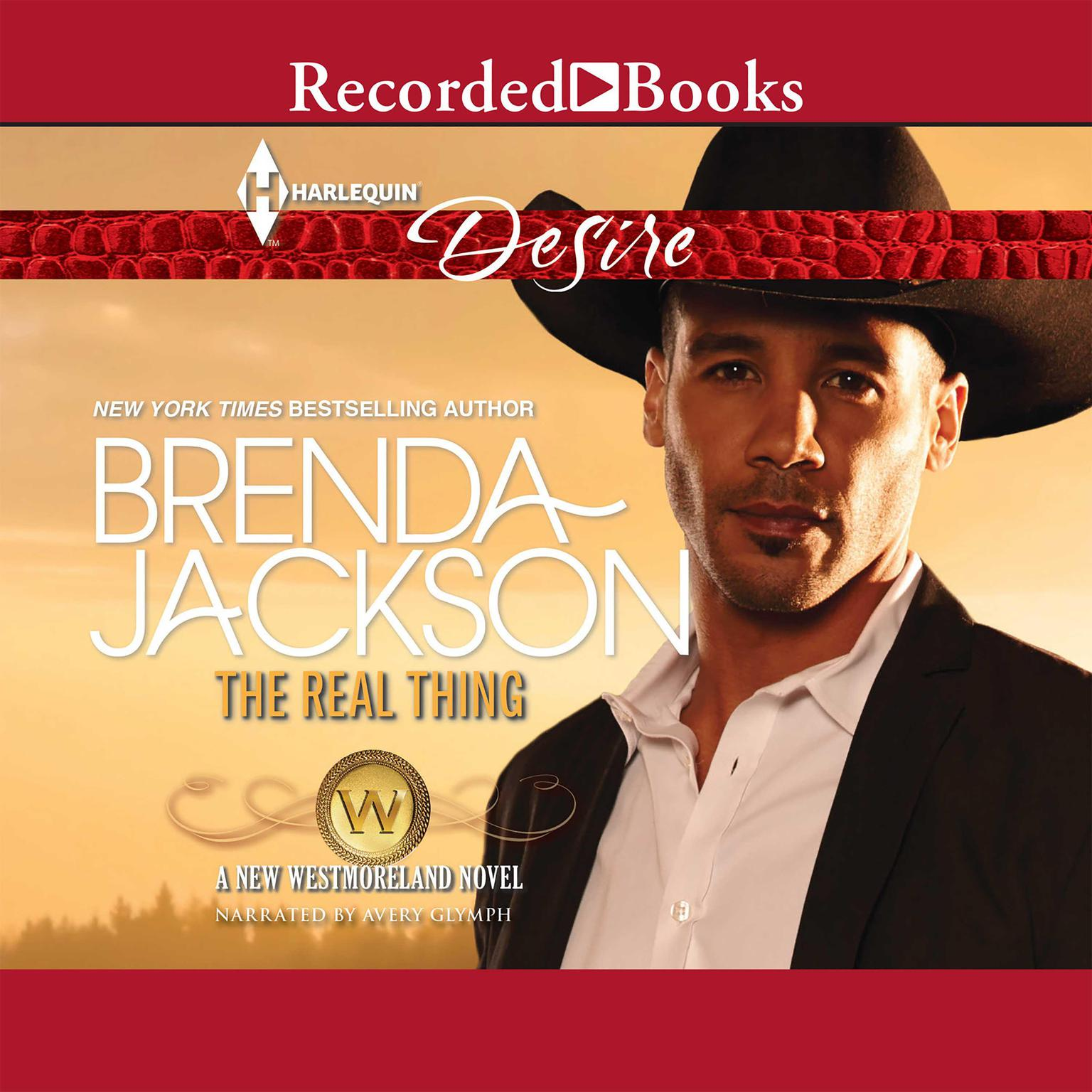 Printable The Real Thing Audiobook Cover Art