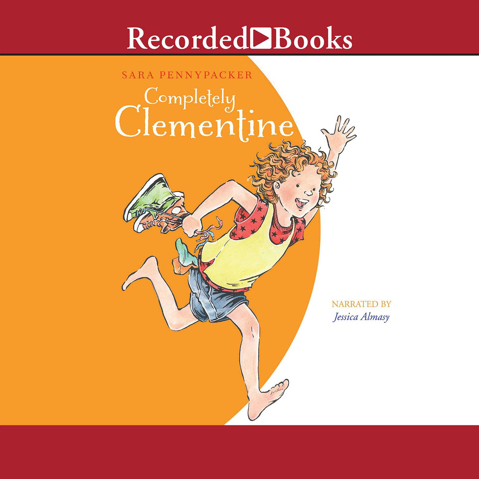 Printable Completely Clementine Audiobook Cover Art