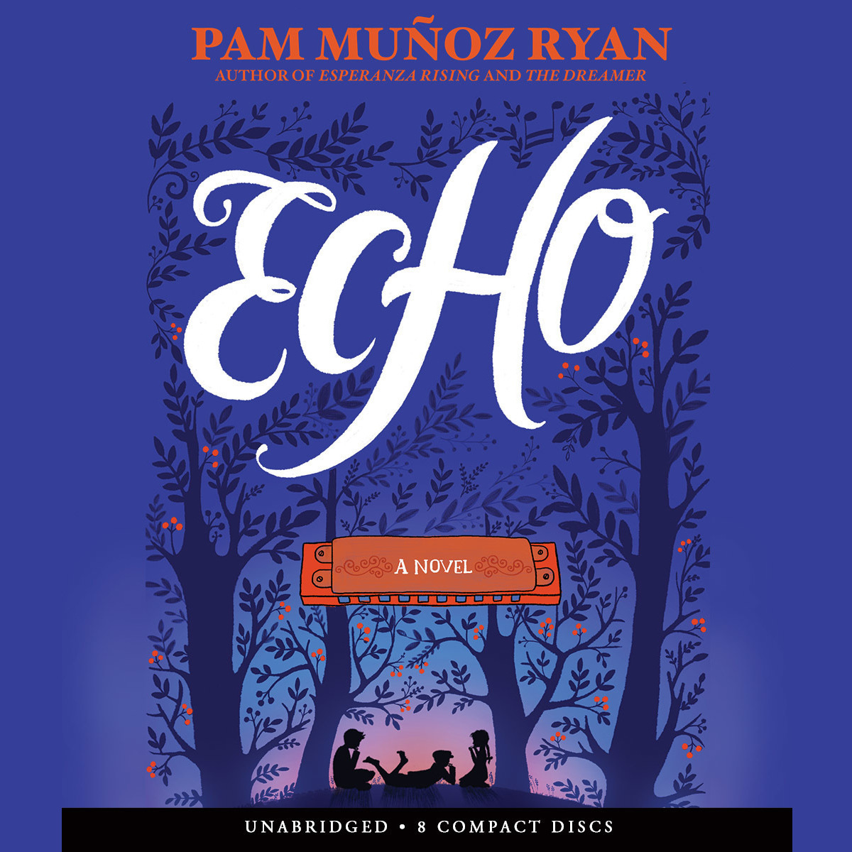 Printable Echo: A Novel Audiobook Cover Art