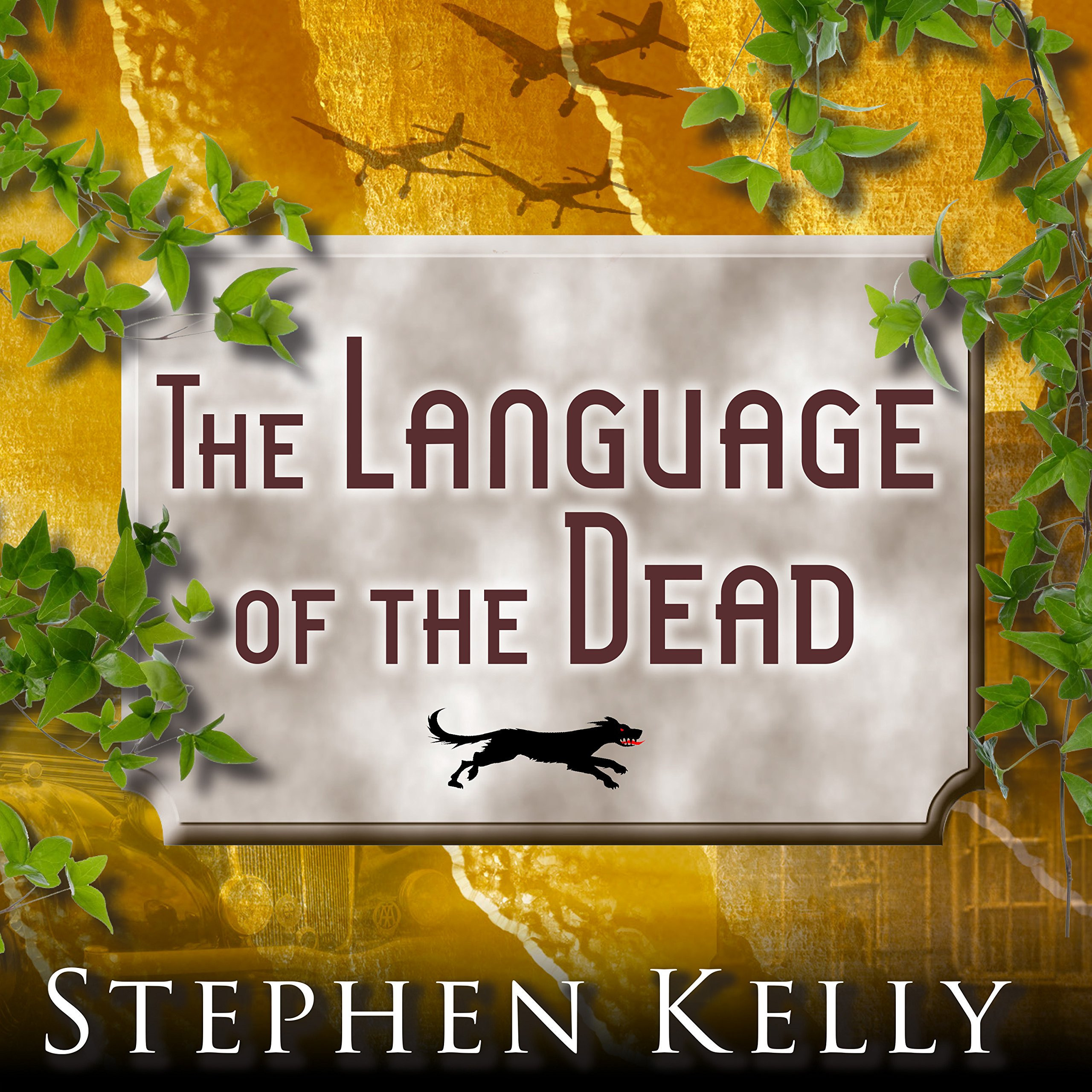 Printable The Language of the Dead: A World War II Mystery Audiobook Cover Art