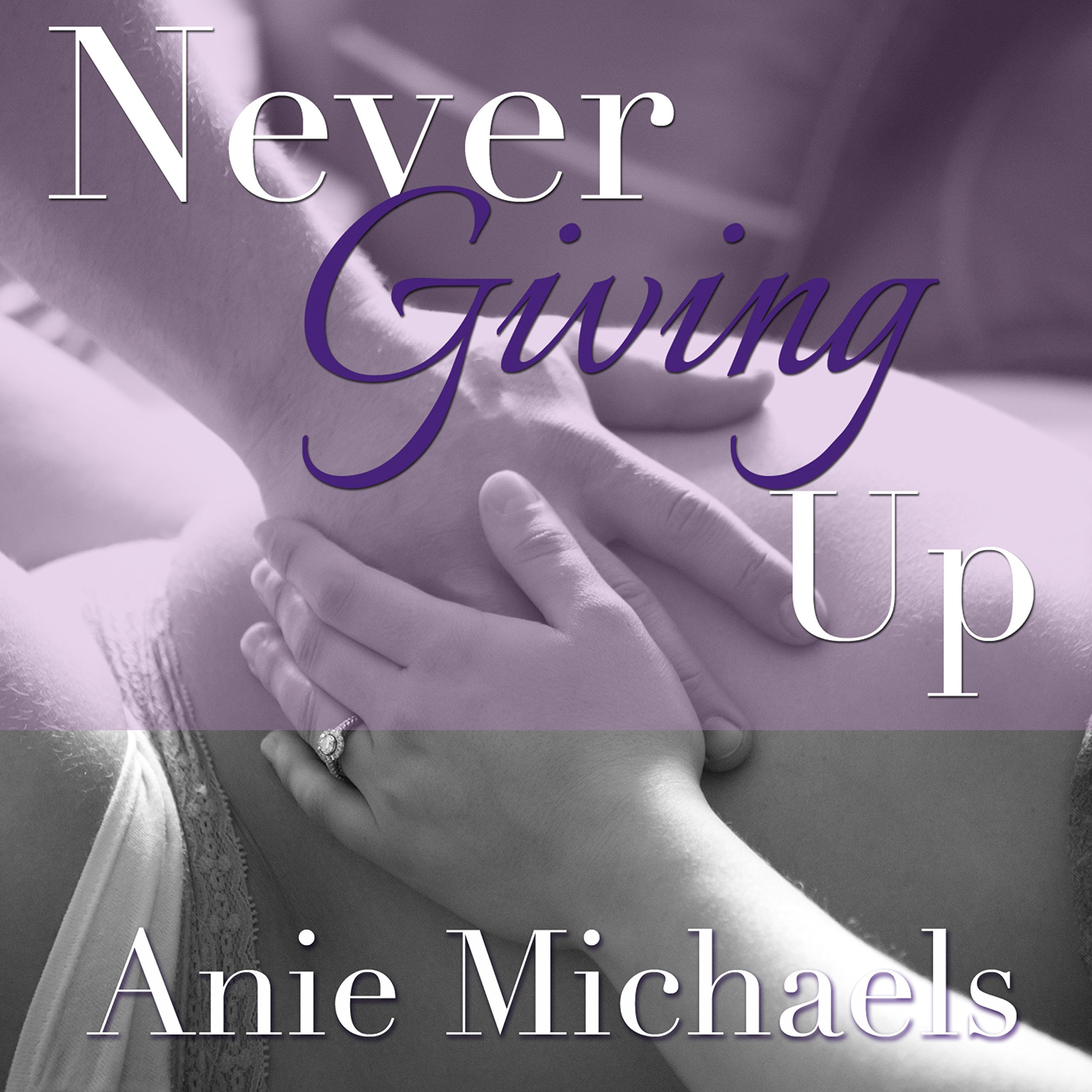 Printable Never Giving Up Audiobook Cover Art