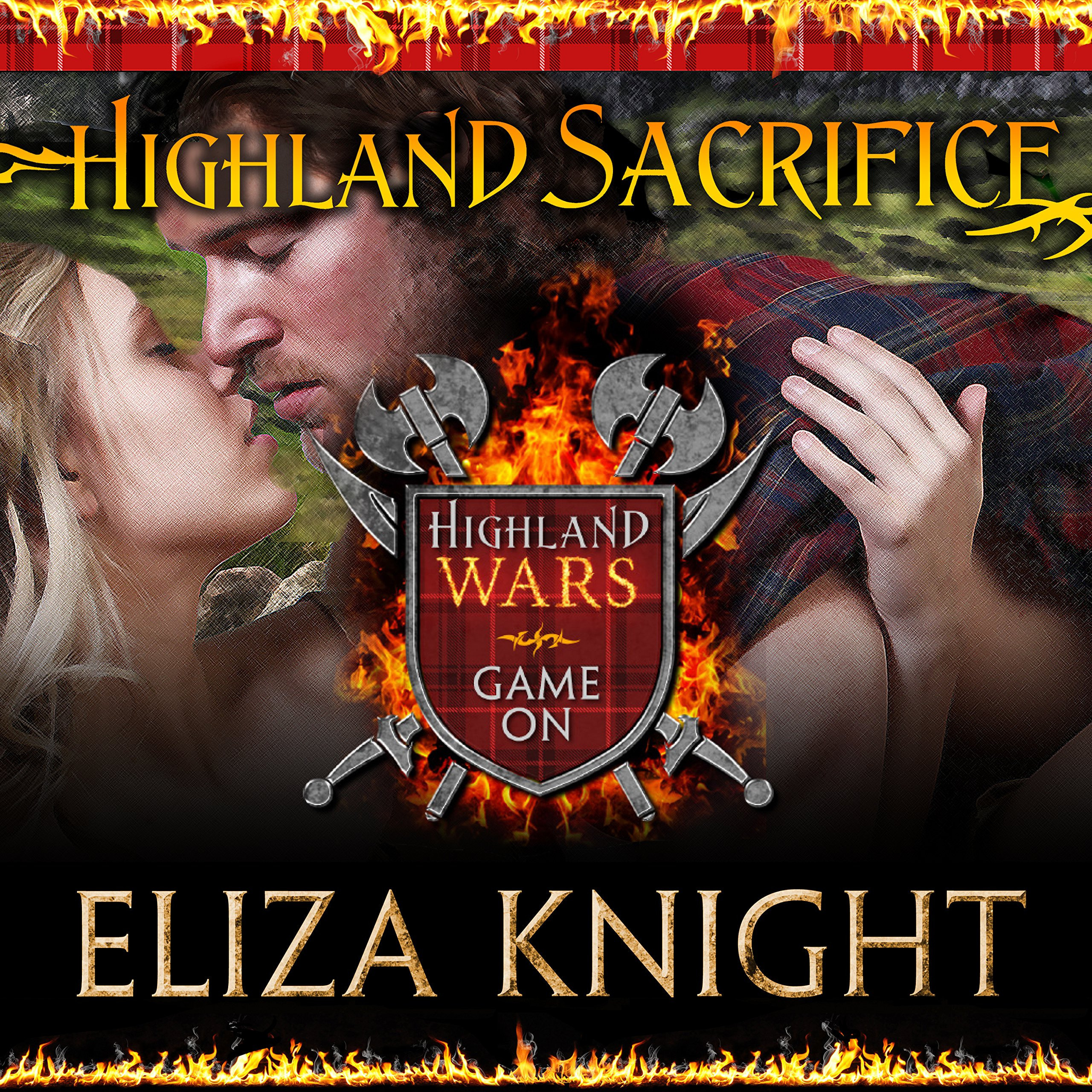Printable Highland Sacrifice Audiobook Cover Art