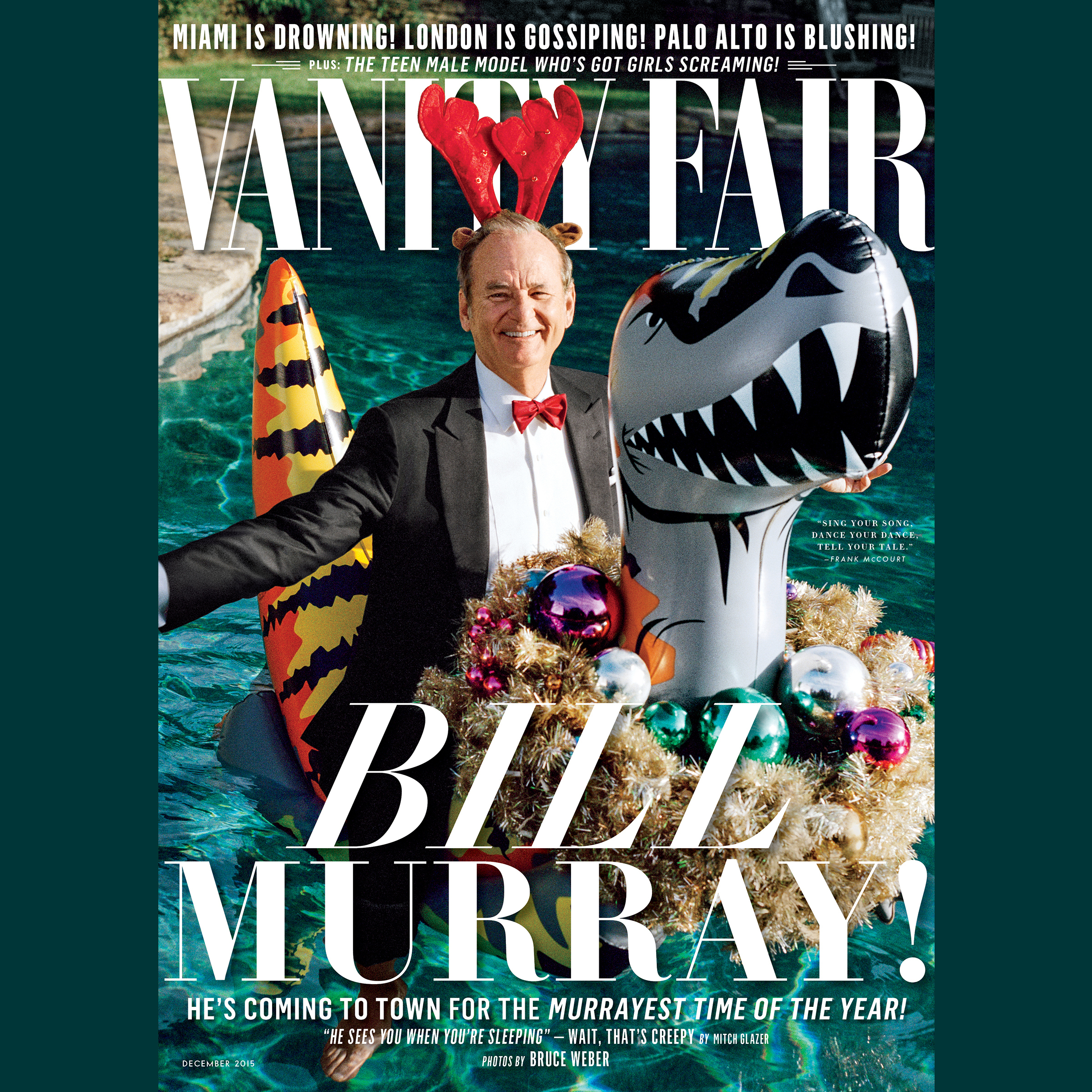 Printable Vanity Fair: December 2015 Issue Audiobook Cover Art