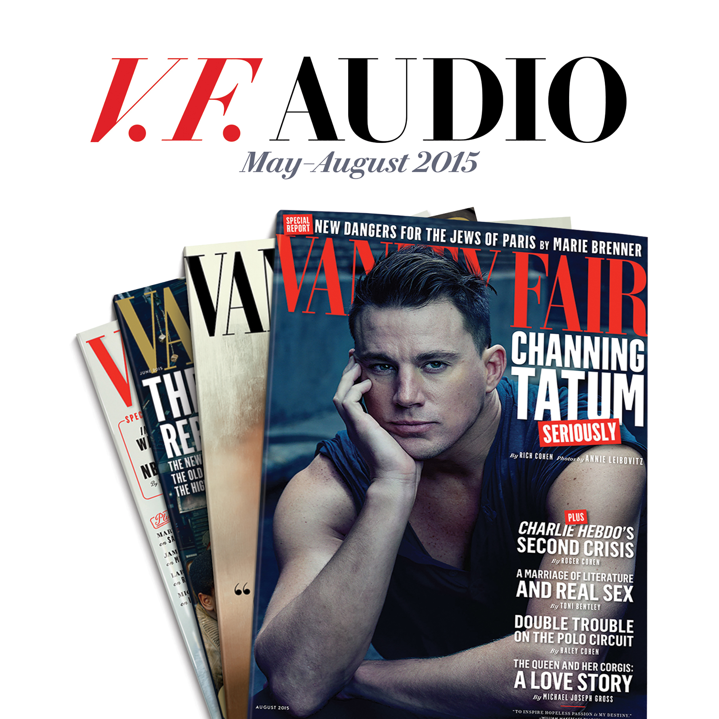 Printable Vanity Fair: May–August 2015 Issue Audiobook Cover Art