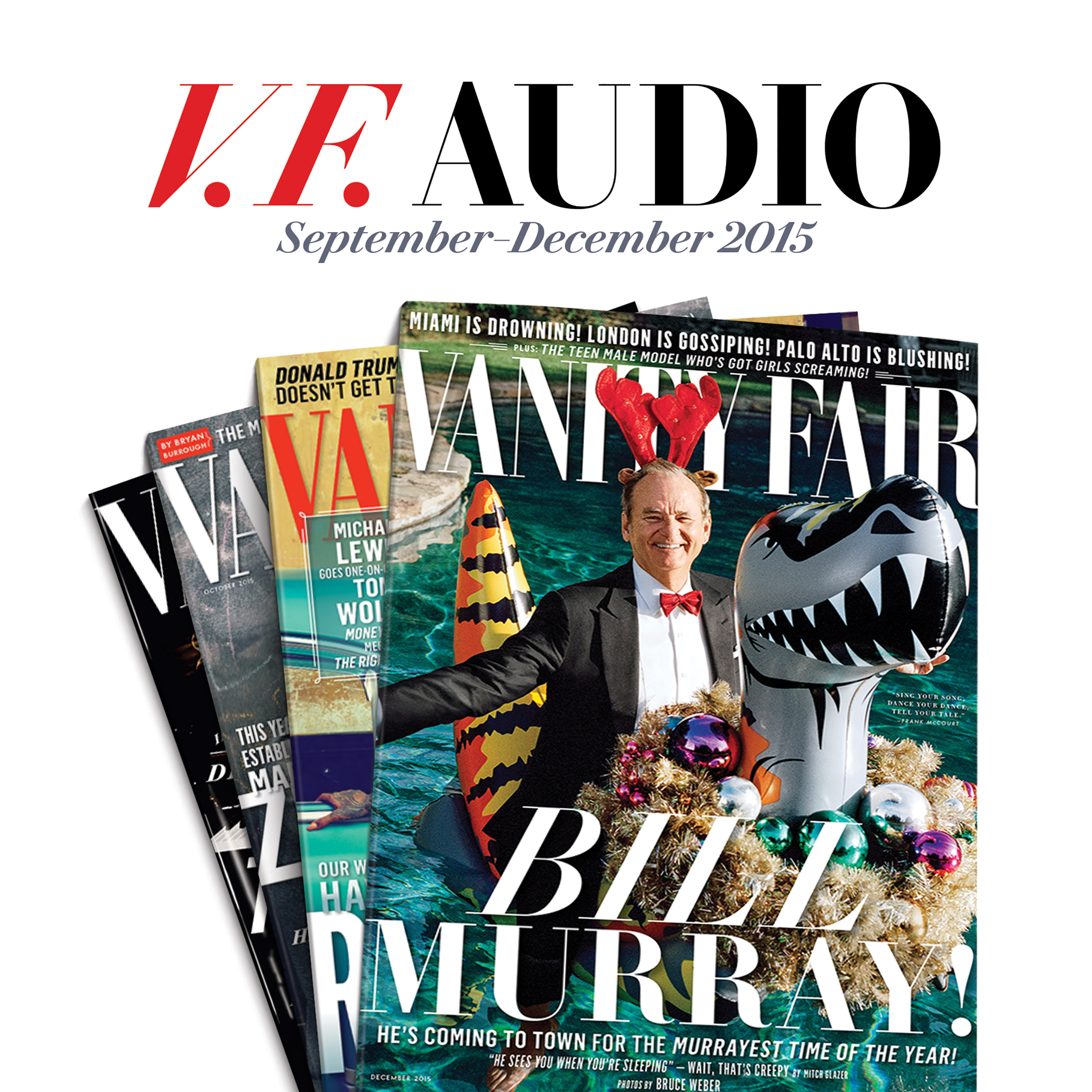 Printable Vanity Fair: September–December 2015 Issue Audiobook Cover Art