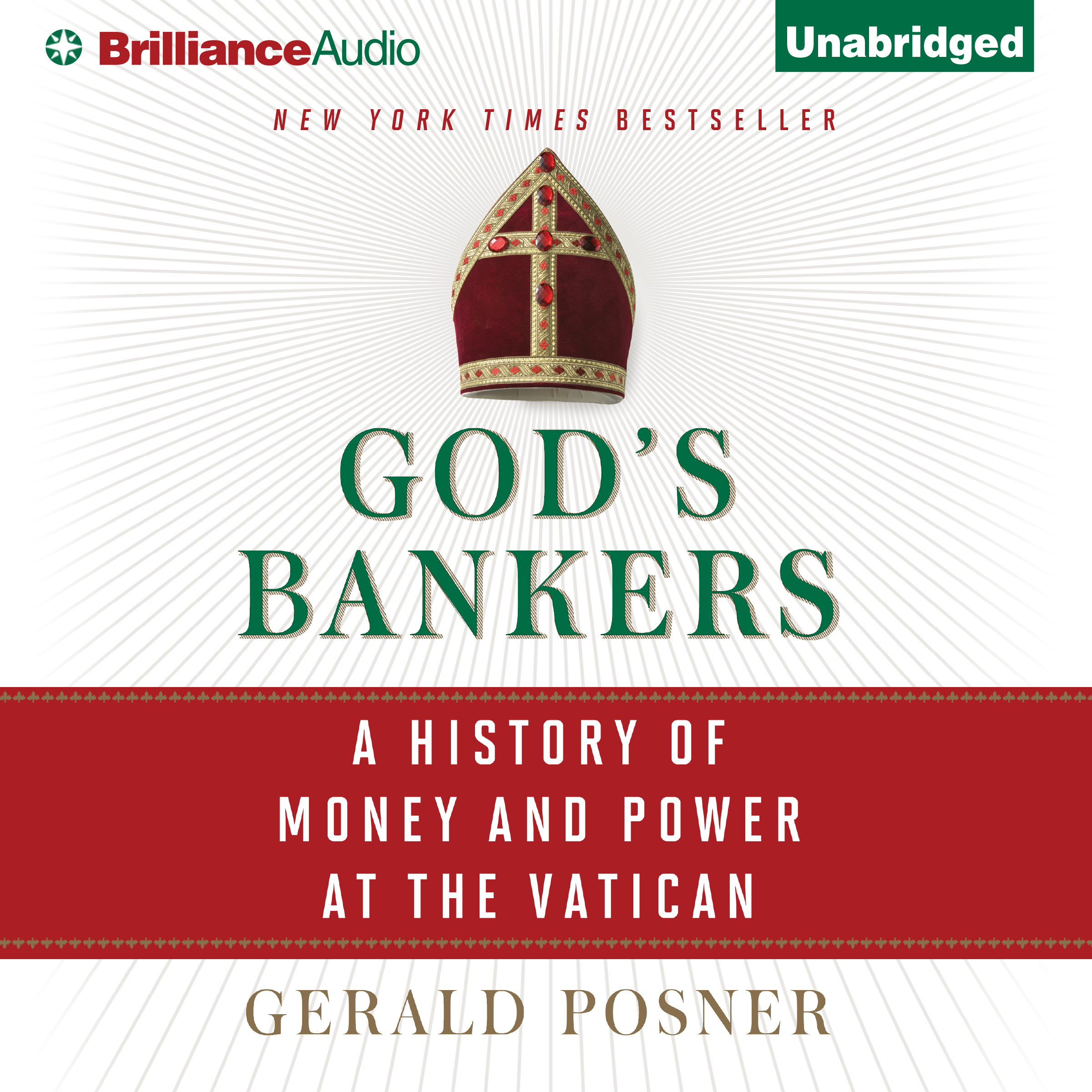 Printable God's Bankers: A History of Money and Power at the Vatican Audiobook Cover Art