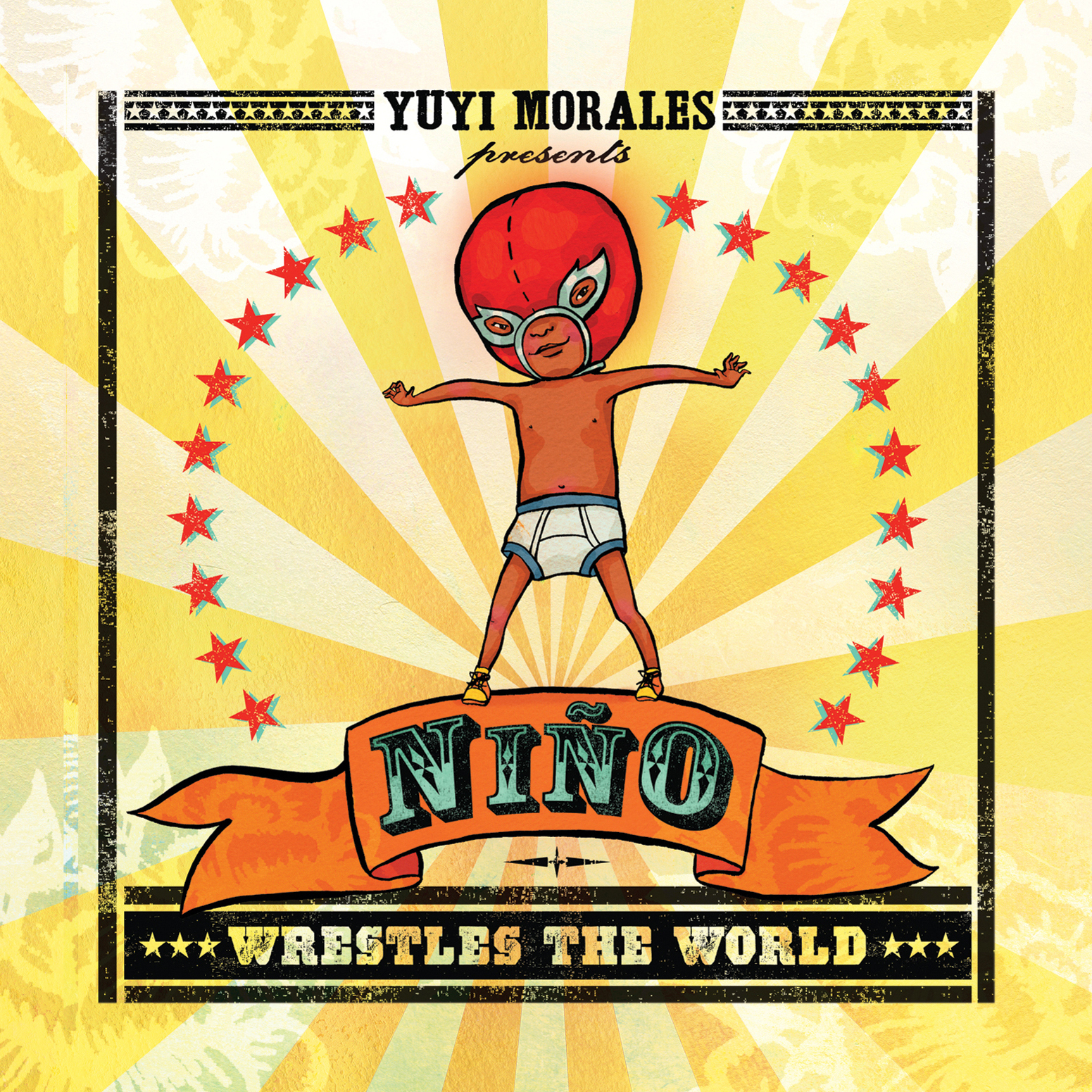 Printable Nino Wrestles the World Audiobook Cover Art