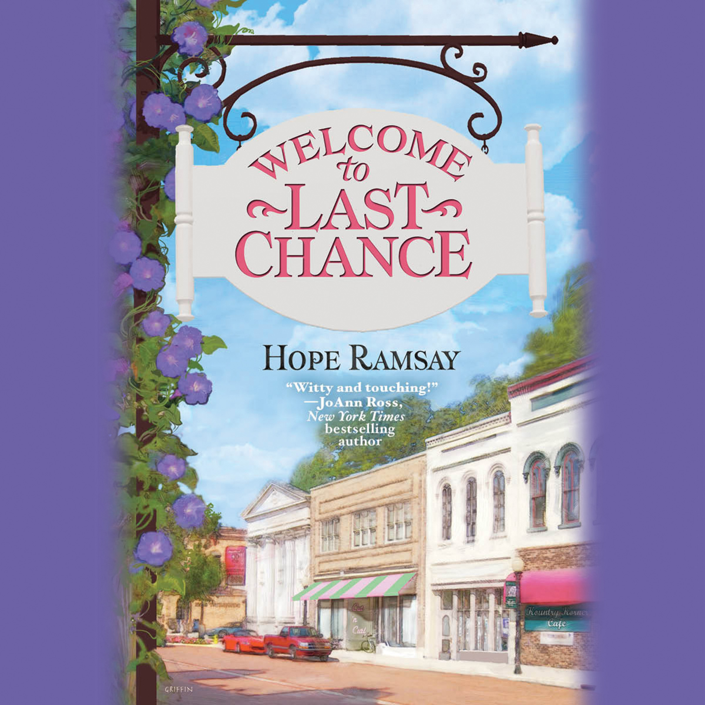 Printable Welcome to Last Chance Audiobook Cover Art