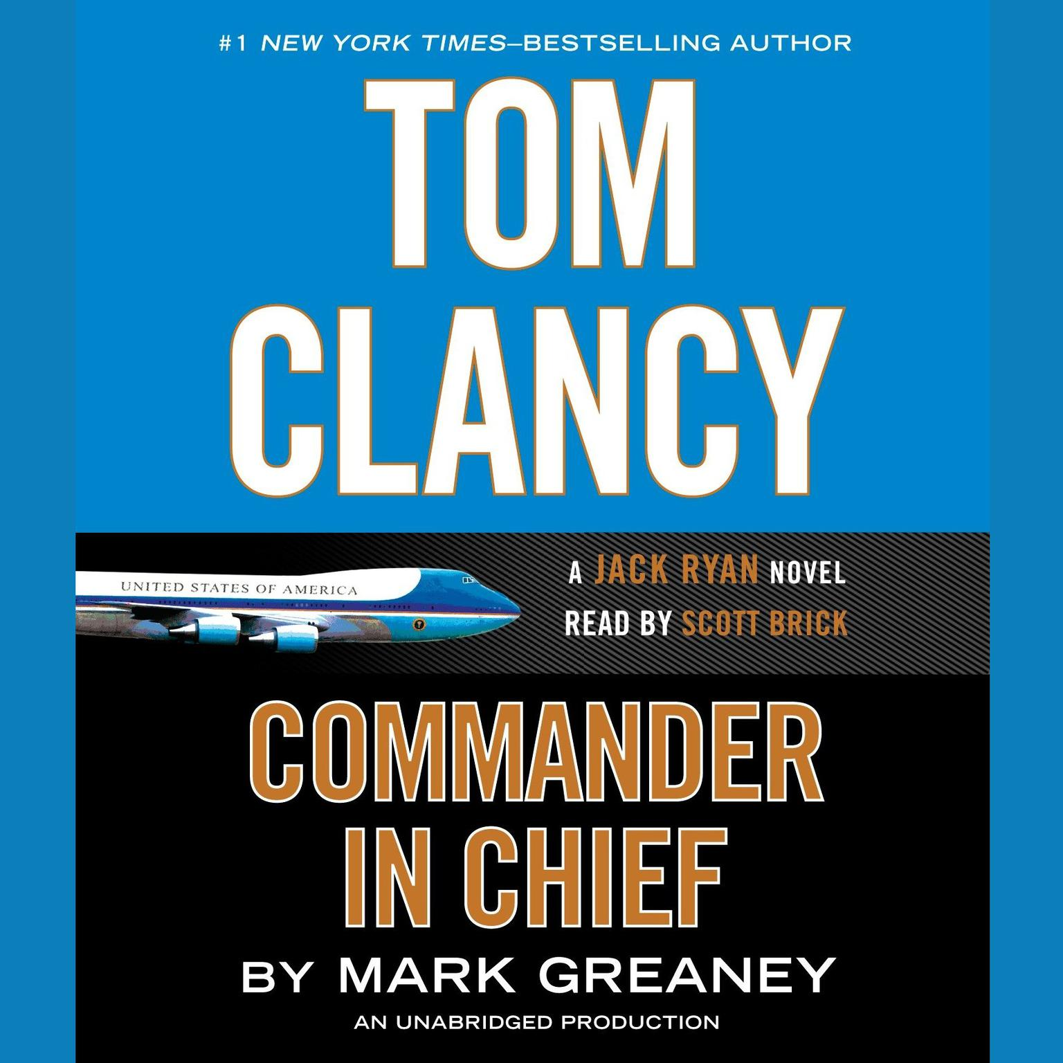 Printable Tom Clancy Commander in Chief: A Jack Ryan Novel Audiobook Cover Art