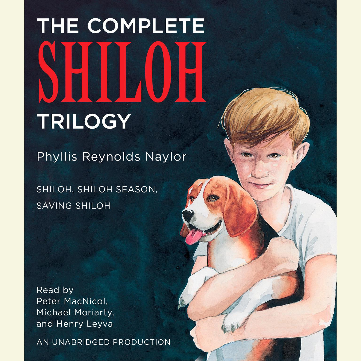 Printable The Complete Shiloh Trilogy: Shiloh; Shiloh Season; Saving Shiloh Audiobook Cover Art