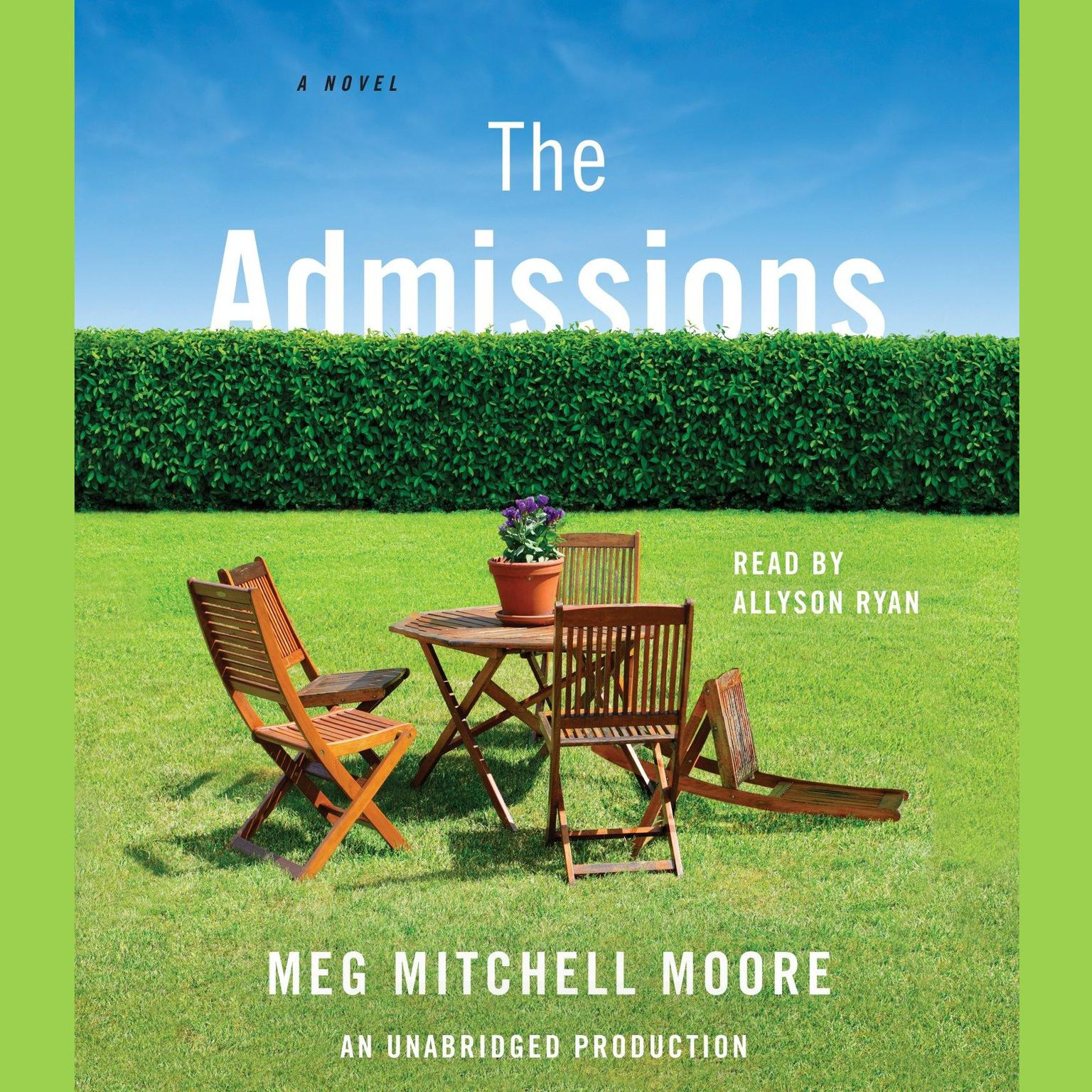 Printable The Admissions: A Novel Audiobook Cover Art