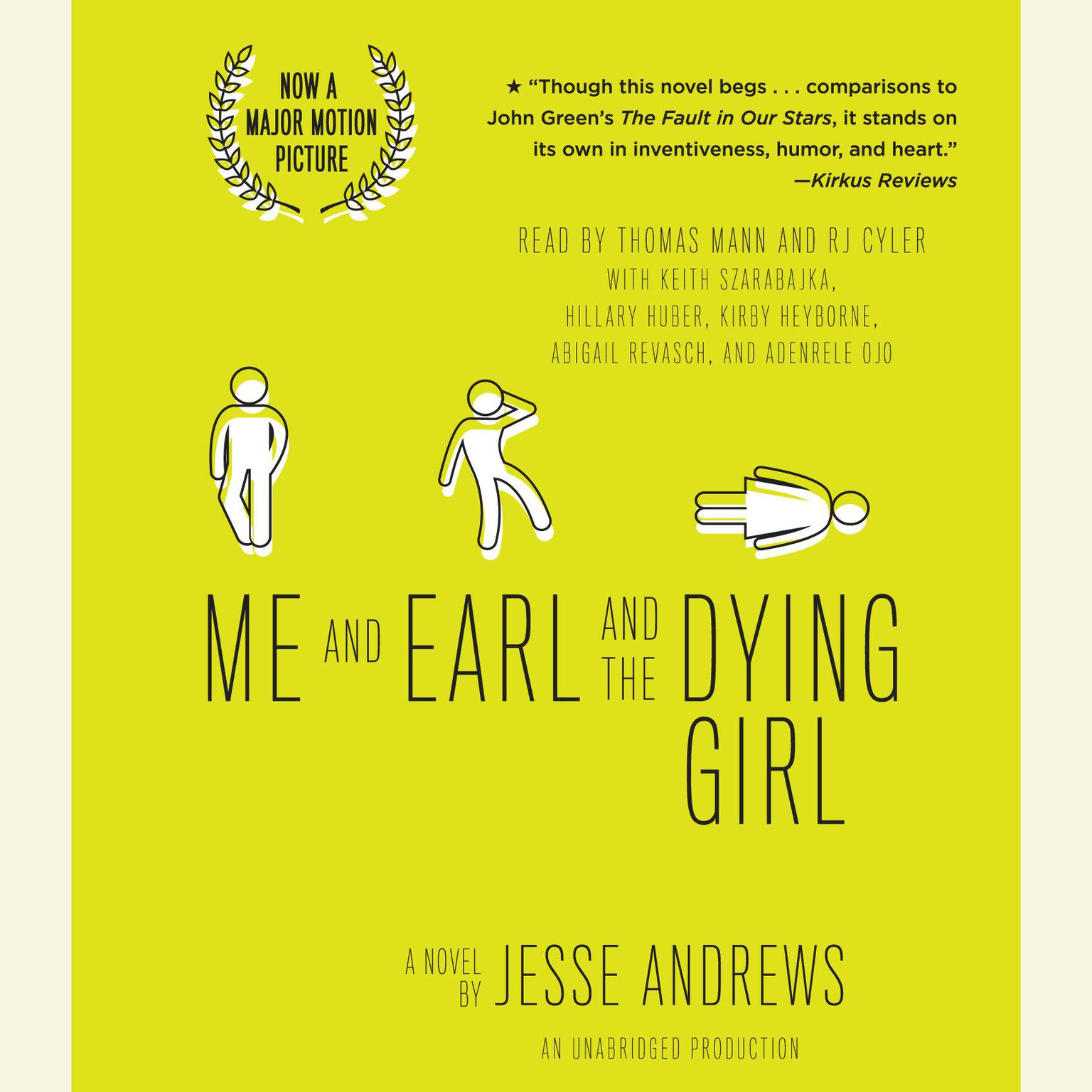 Printable Me and Earl and the Dying Girl Audiobook Cover Art