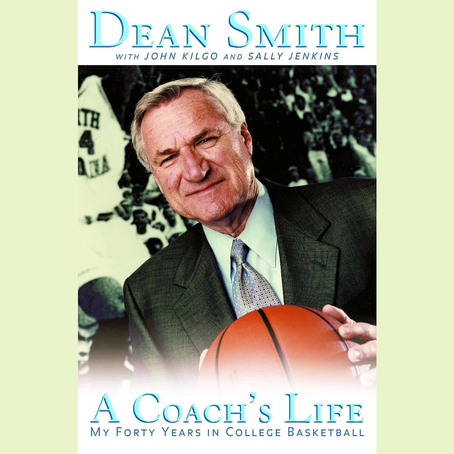 Printable A Coach's Life: My 40 Years in College Basketball Audiobook Cover Art