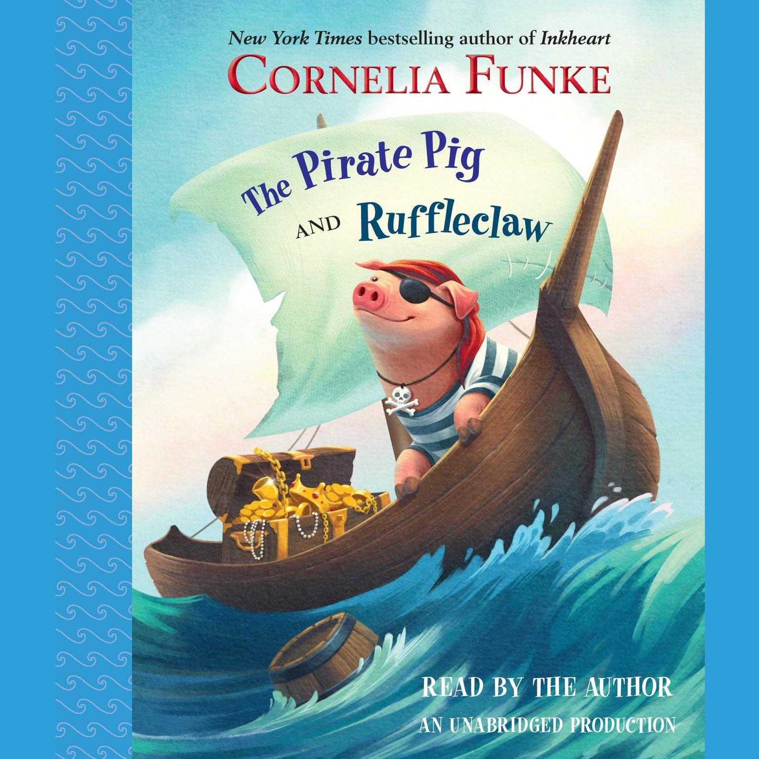 Printable The Pirate Pig and Ruffleclaw Audiobook Cover Art