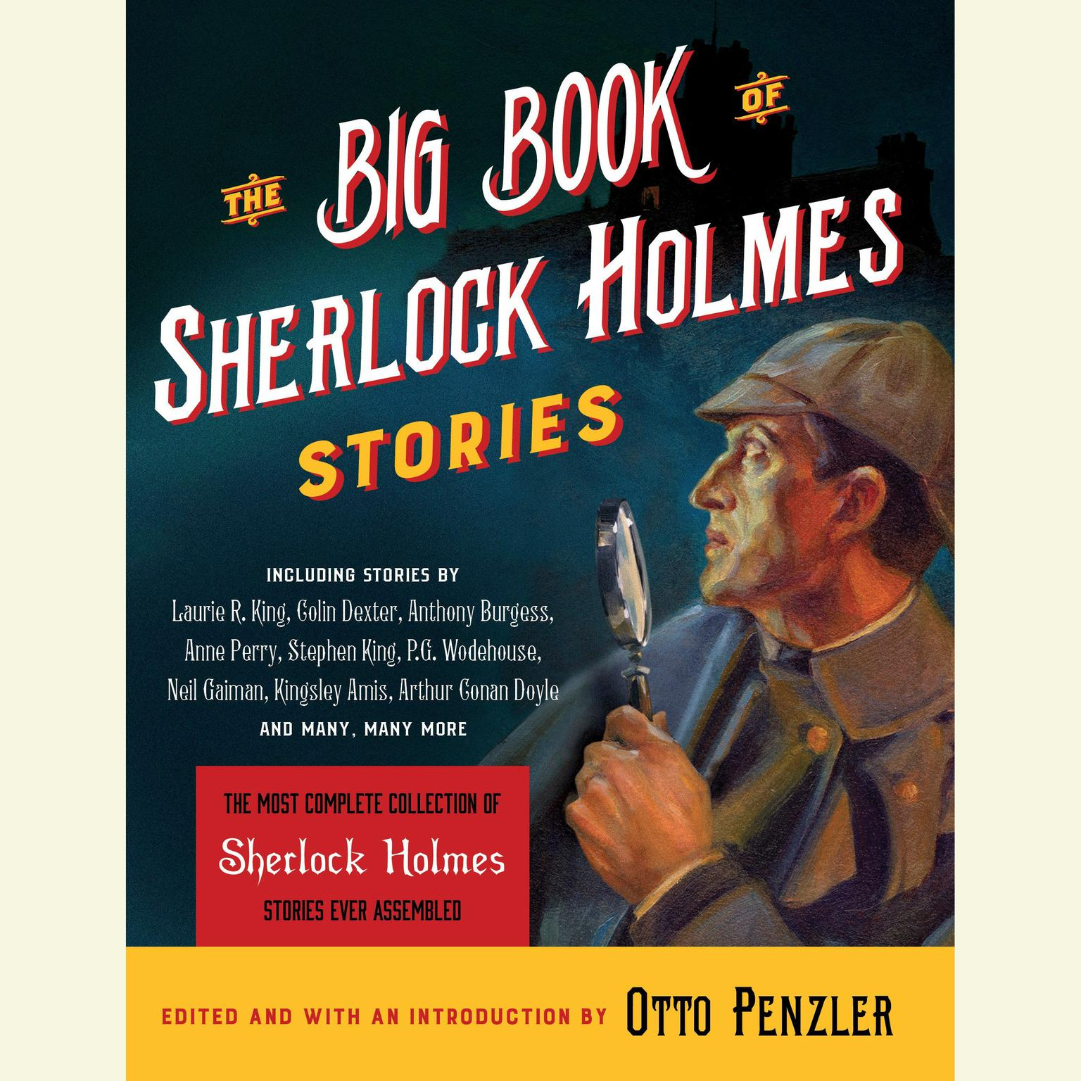 Printable The Big Book of Sherlock Holmes Stories Audiobook Cover Art