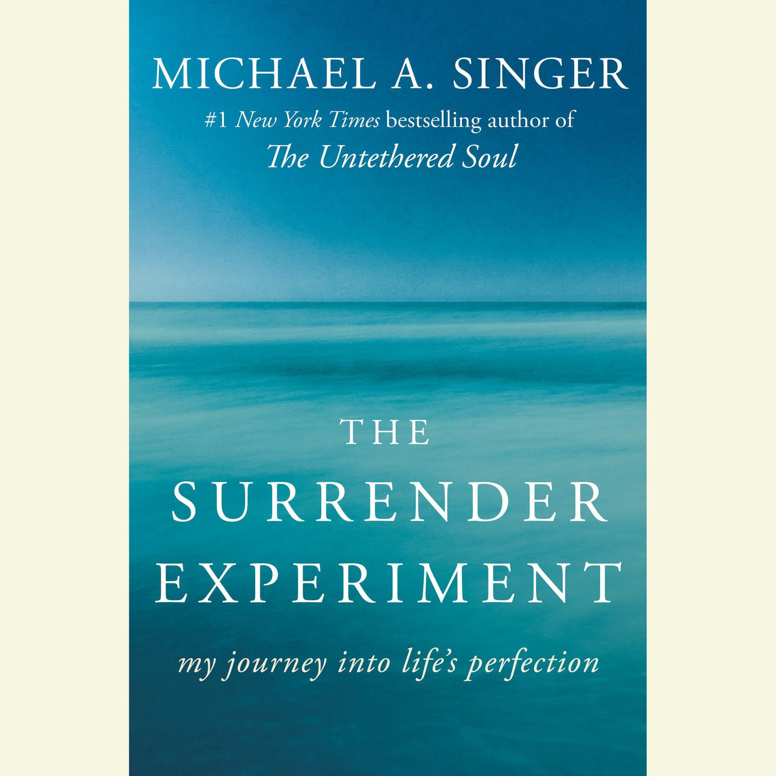 Printable The Surrender Experiment: My Journey into Life's Perfection Audiobook Cover Art